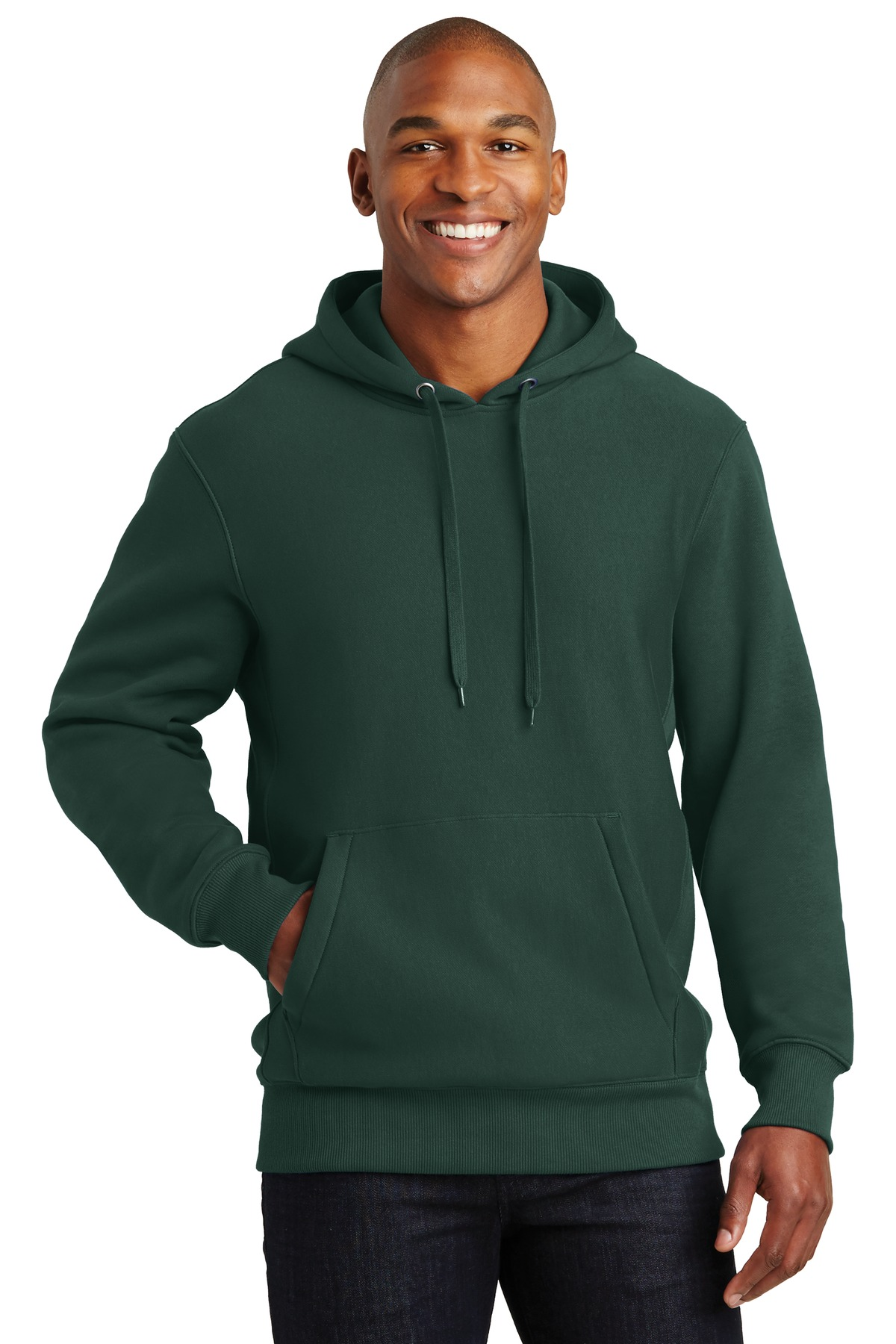 Sport-Tek ®  Super Heavyweight Pullover Hooded Sweatshirt.  F281 - Dark Green