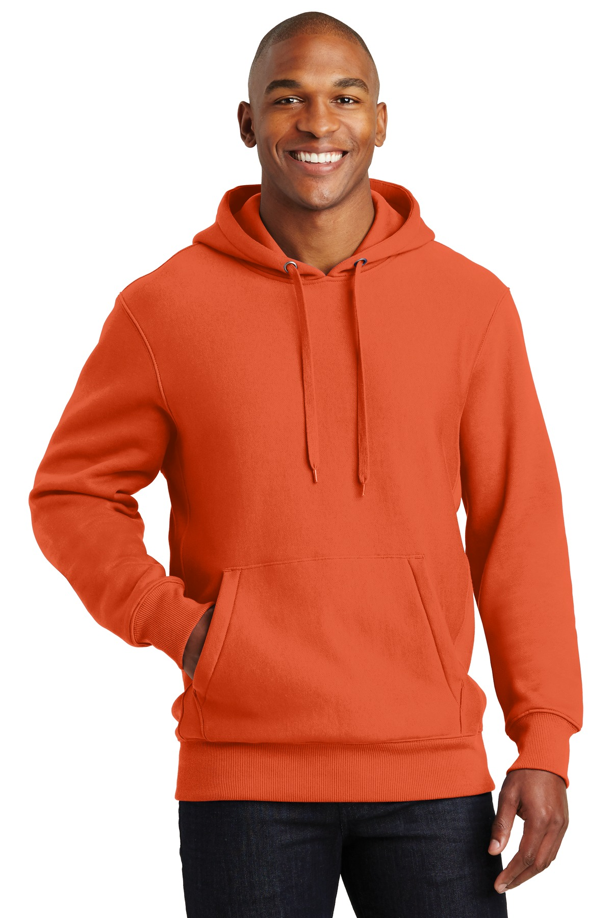 Sport-Tek ®  Super Heavyweight Pullover Hooded Sweatshirt.  F281 - Orange