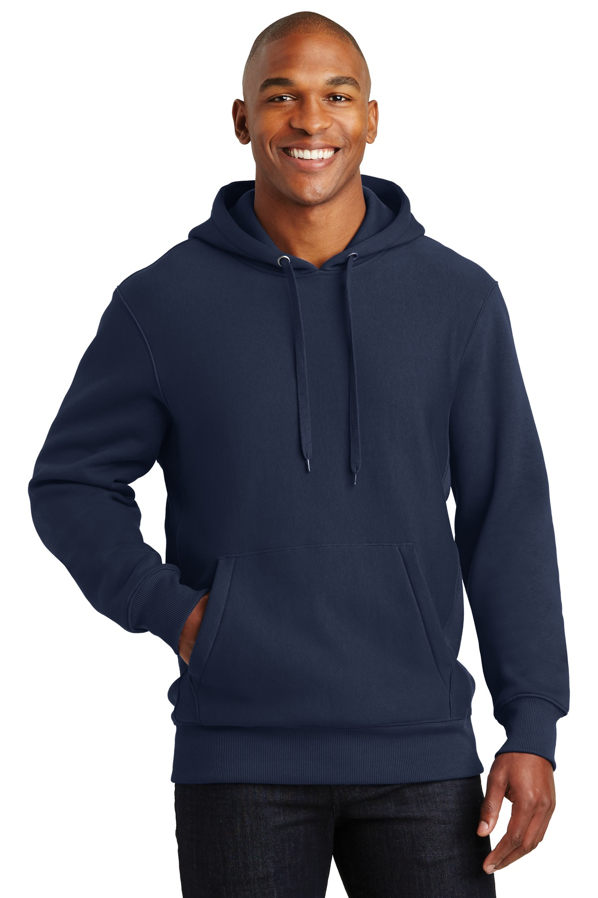 Sport-Tek ®  Super Heavyweight Pullover Hooded Sweatshirt.  F281 - True Navy