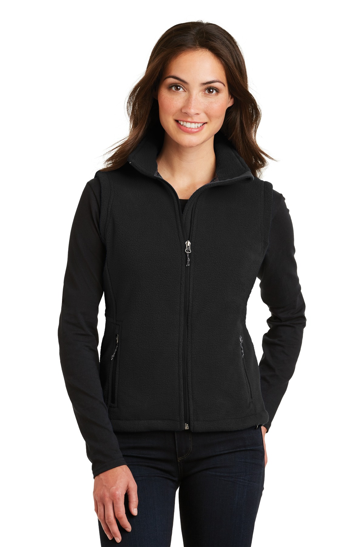 Port Authority ®  Ladies Value Fleece Vest. L219 - Black