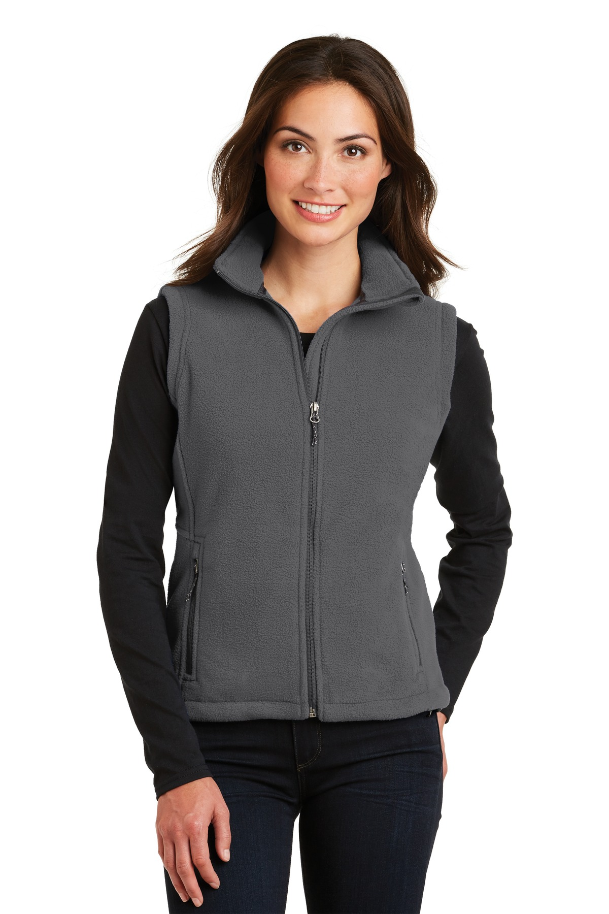 Port Authority ®  Ladies Value Fleece Vest. L219 - Iron Grey