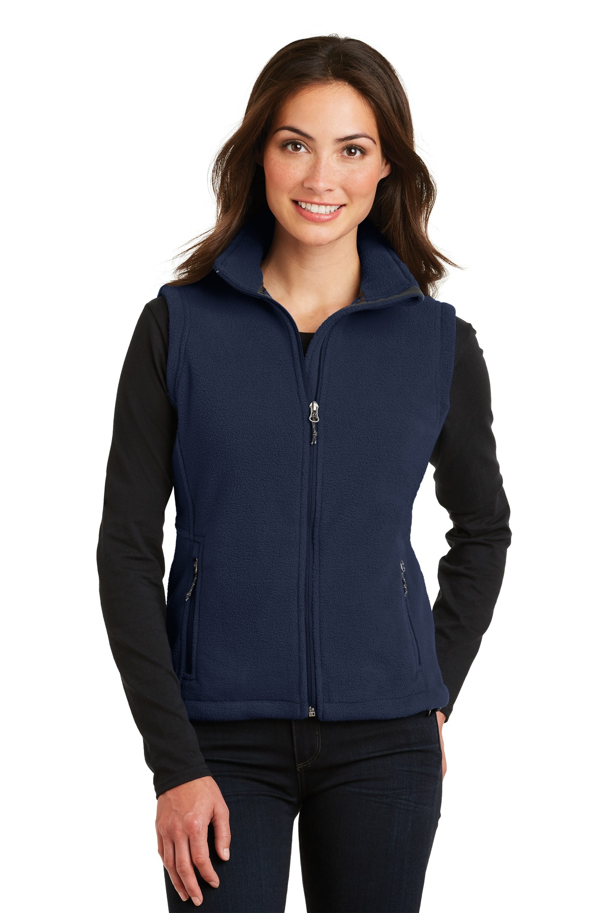 Port Authority ®  Ladies Value Fleece Vest. L219 - True Navy