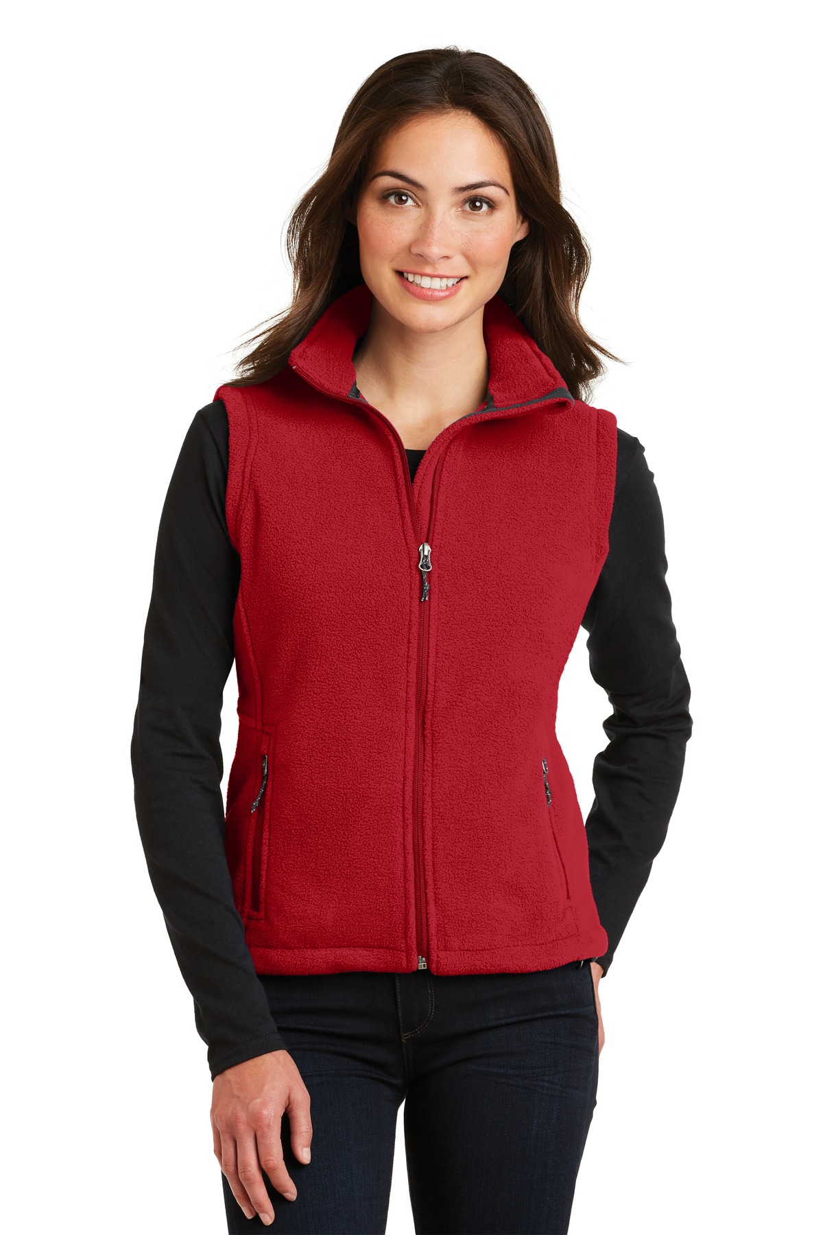 Port Authority ®  Ladies Value Fleece Vest. L219 - True Red
