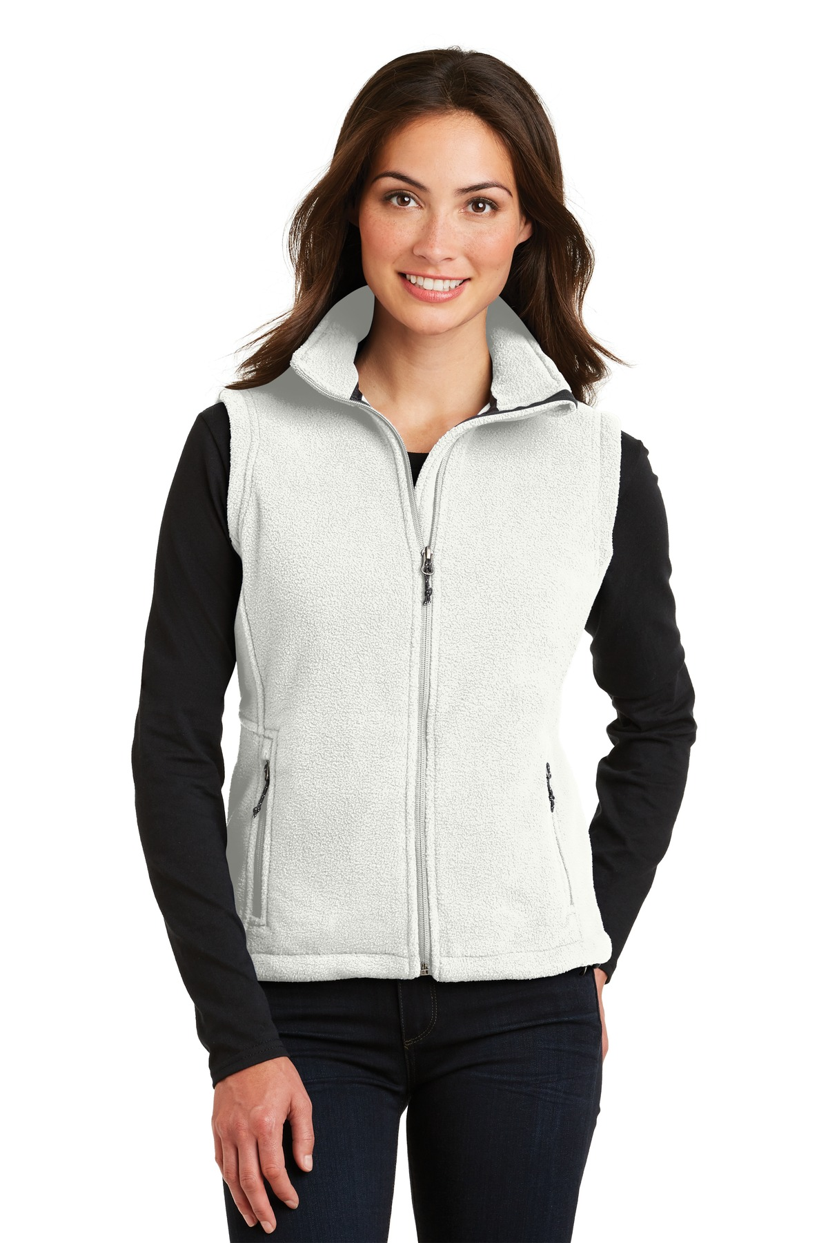 Port Authority ®  Ladies Value Fleece Vest. L219 - Winter White