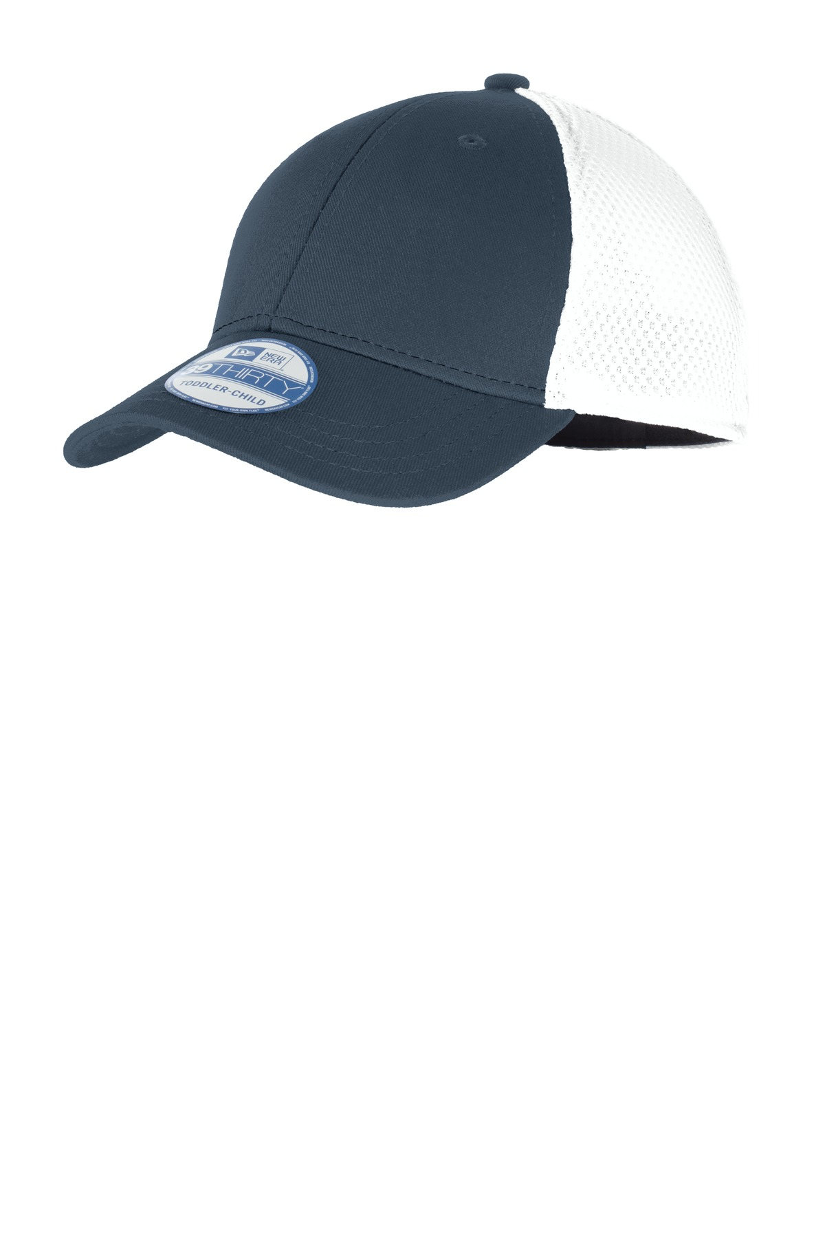 New Era ®  Youth Stretch Mesh Cap. NE302 - Deep Navy/White
