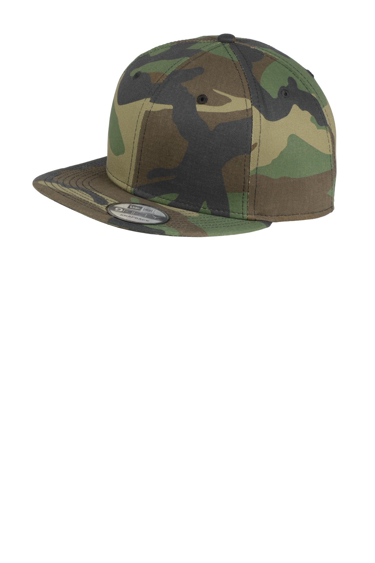 New Era ®  - Flat Bill Snapback Cap. NE400 - Camo
