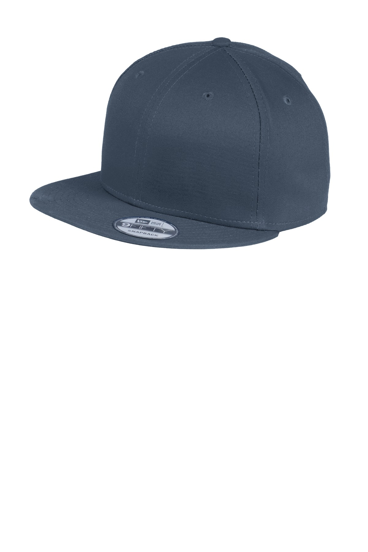 New Era ®  - Flat Bill Snapback Cap. NE400 - Deep Navy
