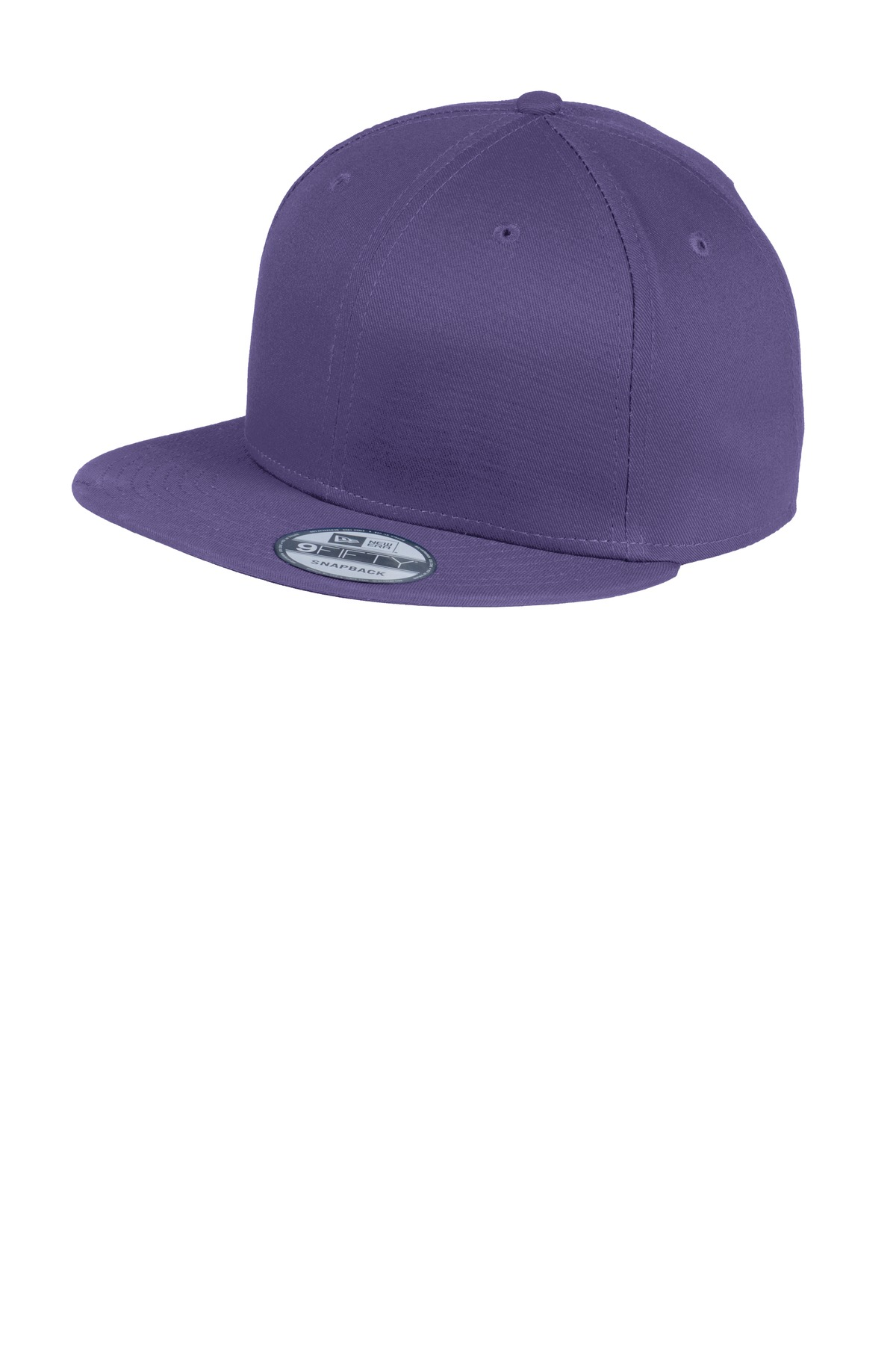 New Era ®  - Flat Bill Snapback Cap. NE400 - Purple