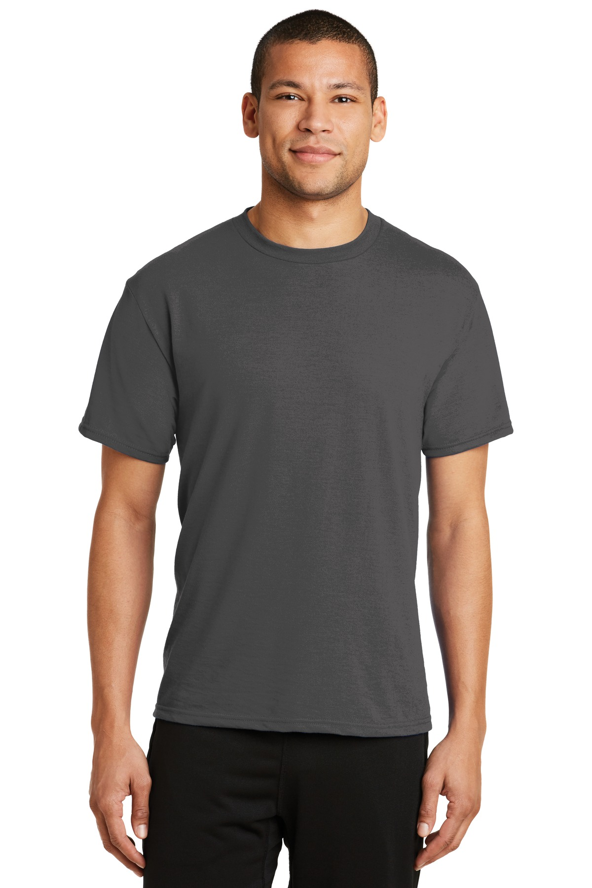 Port & Company ®  Performance Blend Tee. PC381 - Charcoal