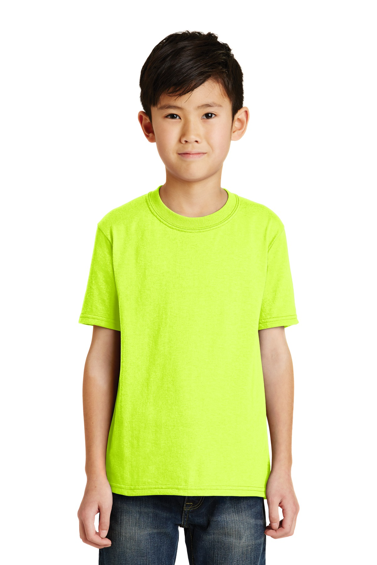 Port and Company - Youth Core Blend Tee. PC55Y