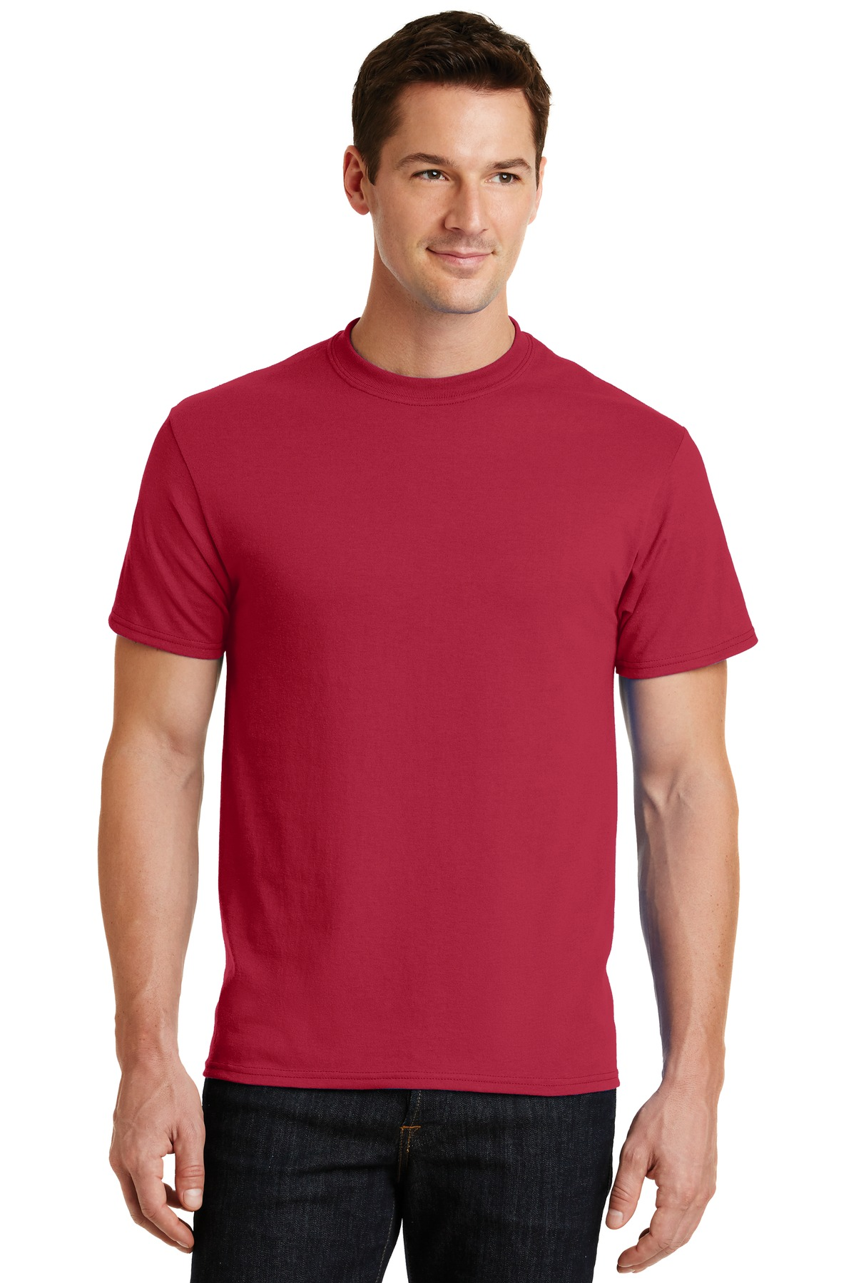 Port and Company - Core Blend Tee. PC55