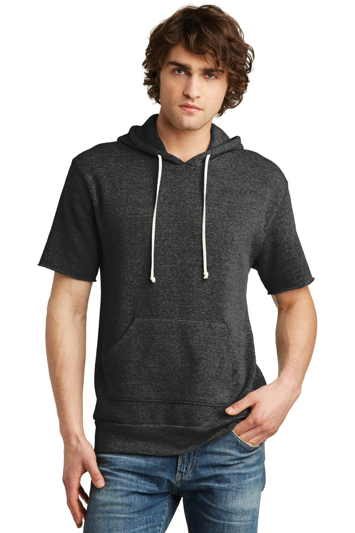 Alternative Eco-Fleece ™  Baller Pullover Hoodie. AA3501 - Eco Black