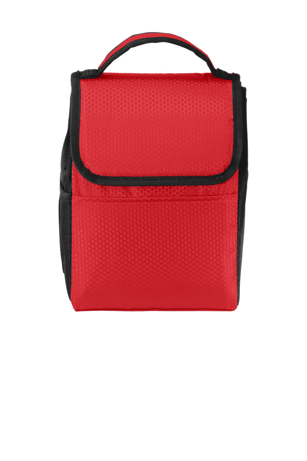 Port Authority ®  Lunch Bag Cooler. BG500 - Red/ Black