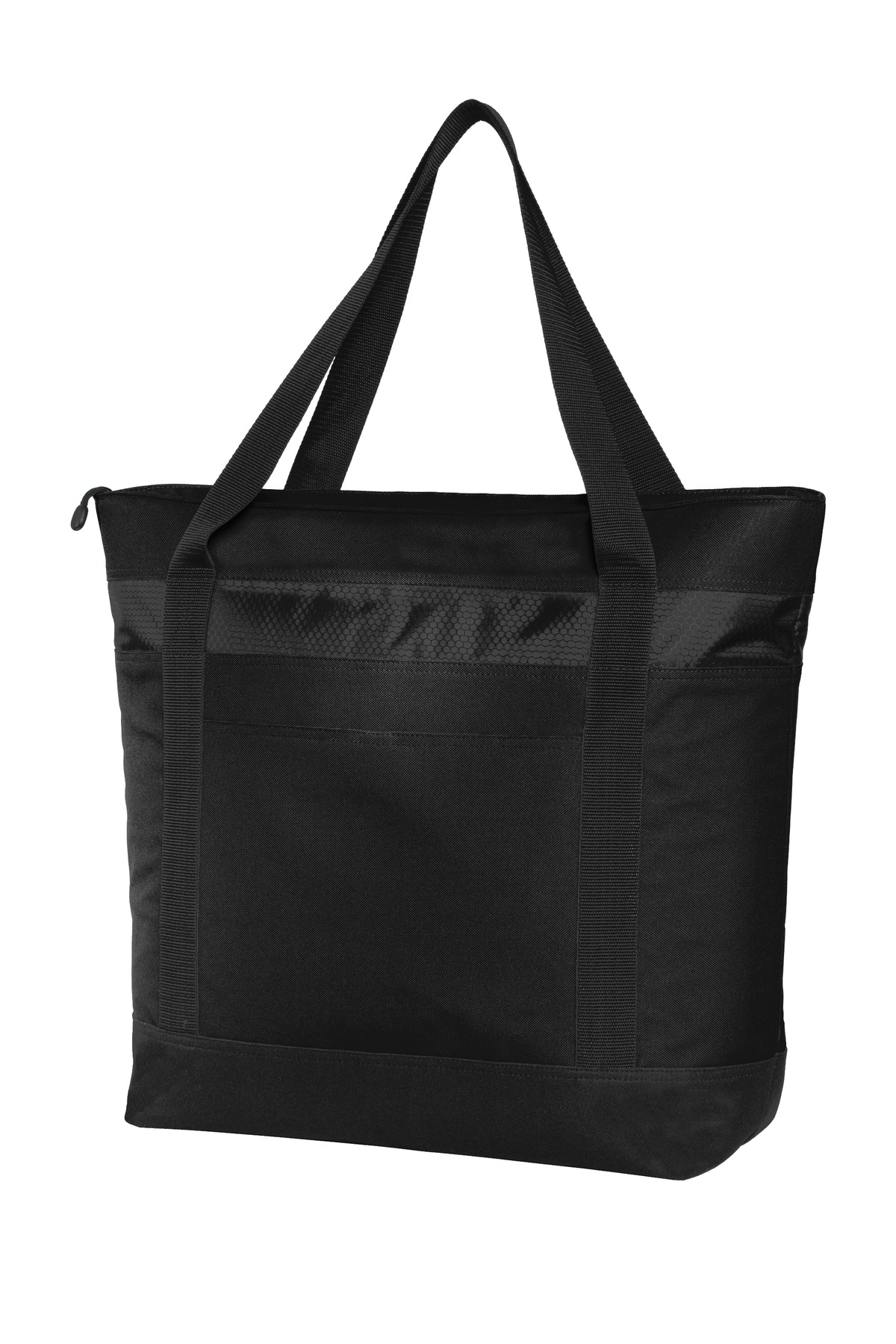 Port Authority ®  Large Tote Cooler. BG527 - Black/ Black