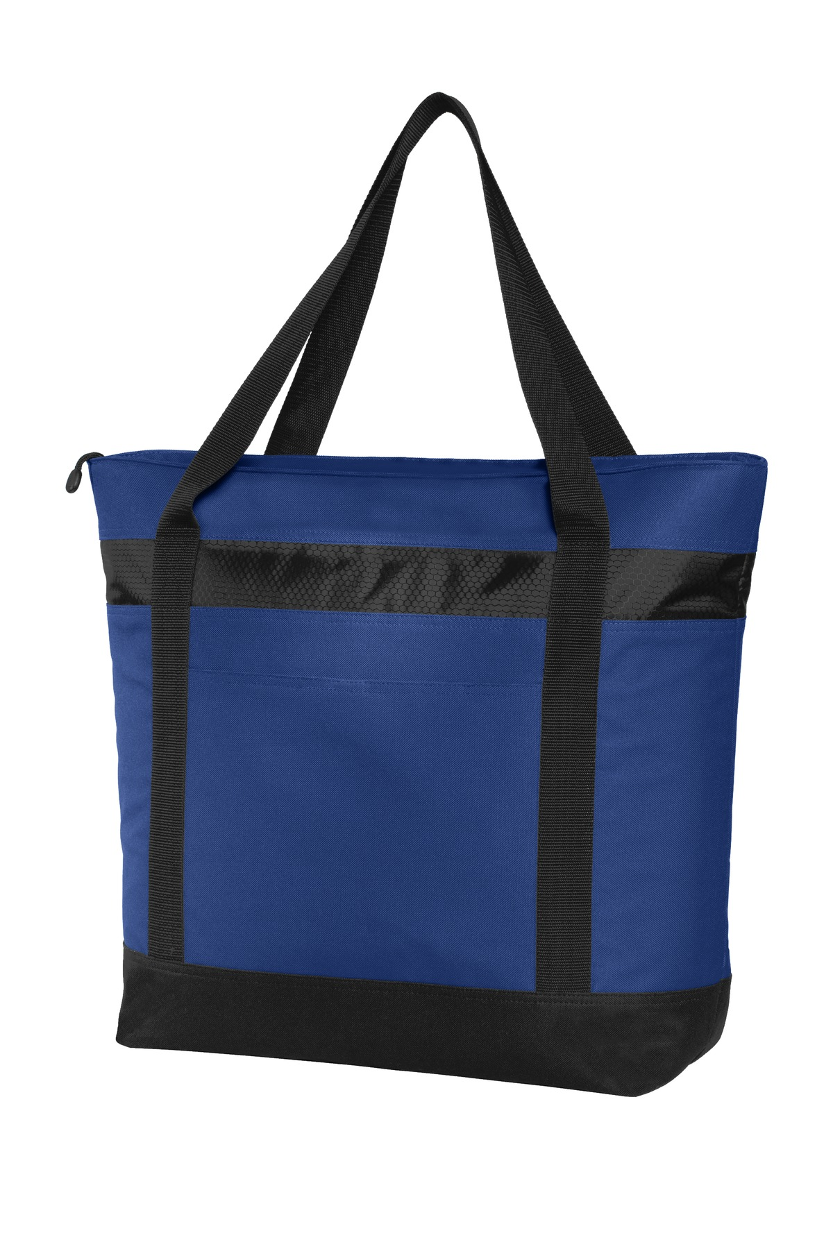 Port Authority ®  Large Tote Cooler. BG527 - True Royal/ Black