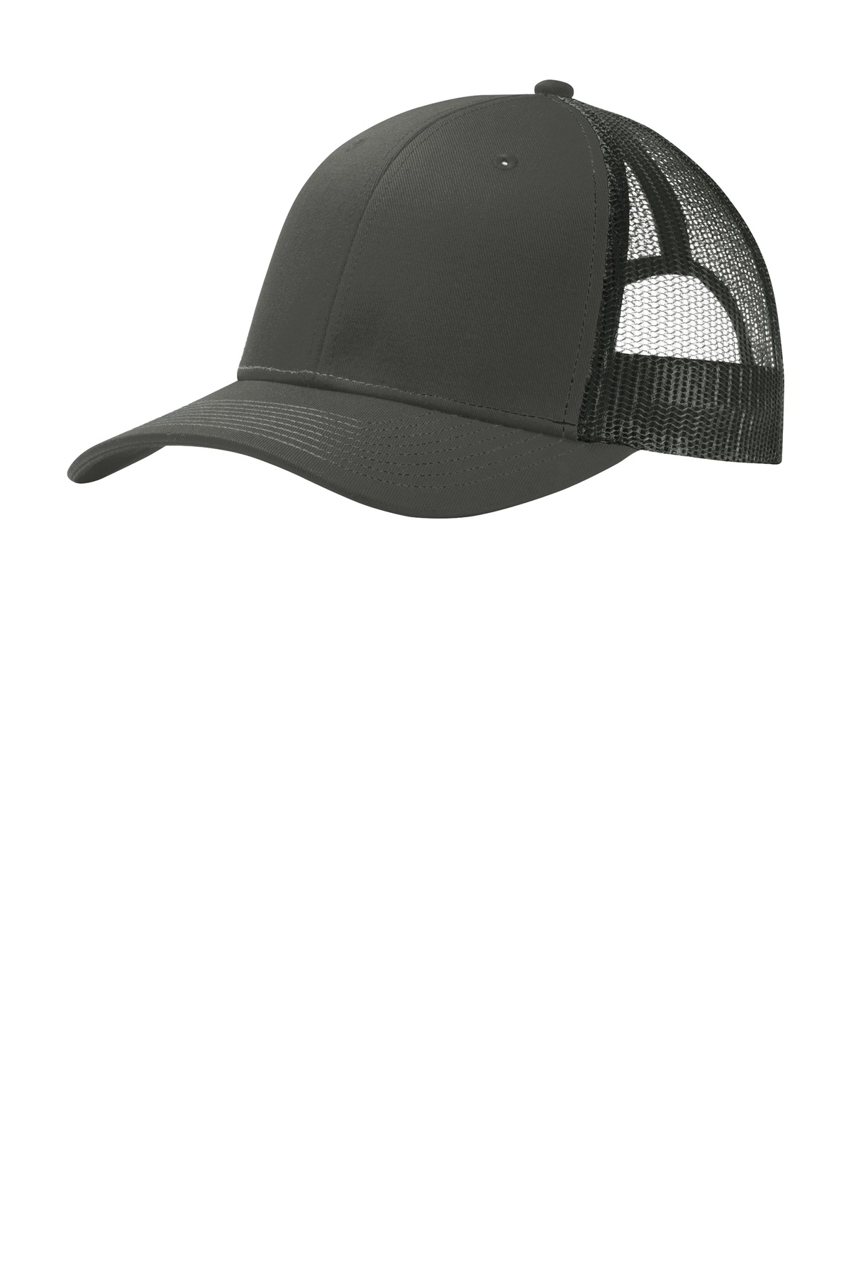 Port Authority ®  Snapback Trucker Cap. C112 - Grey Steel