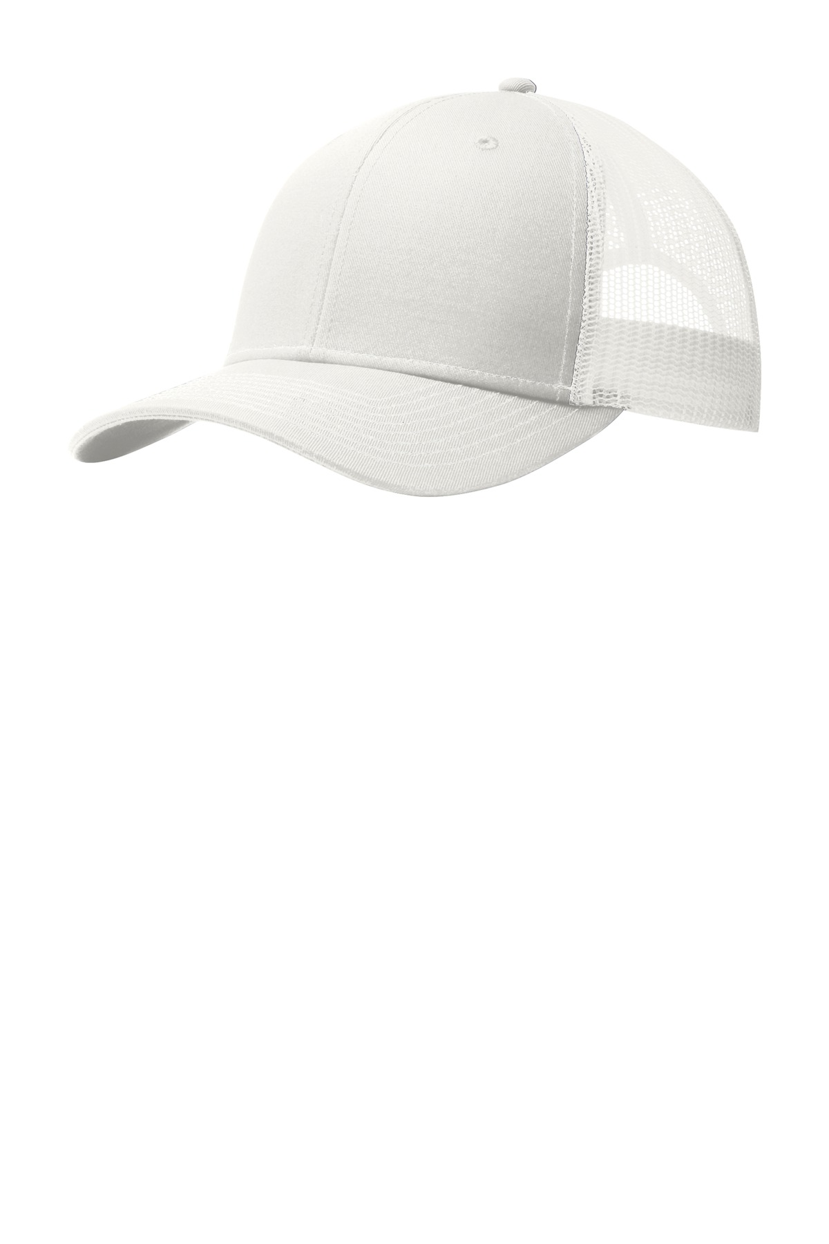 Port Authority ®  Snapback Trucker Cap. C112 - White