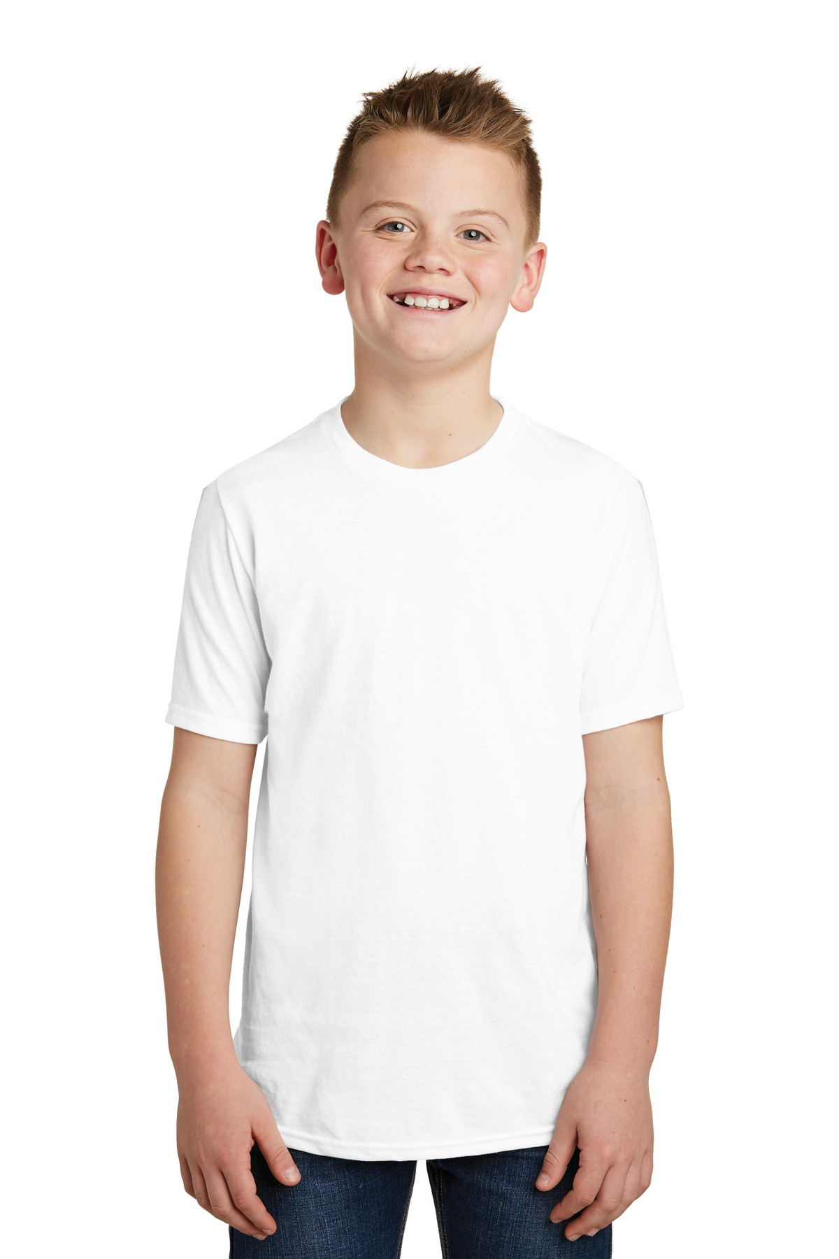 District ®  Youth Very Important Tee ® . DT6000Y - White