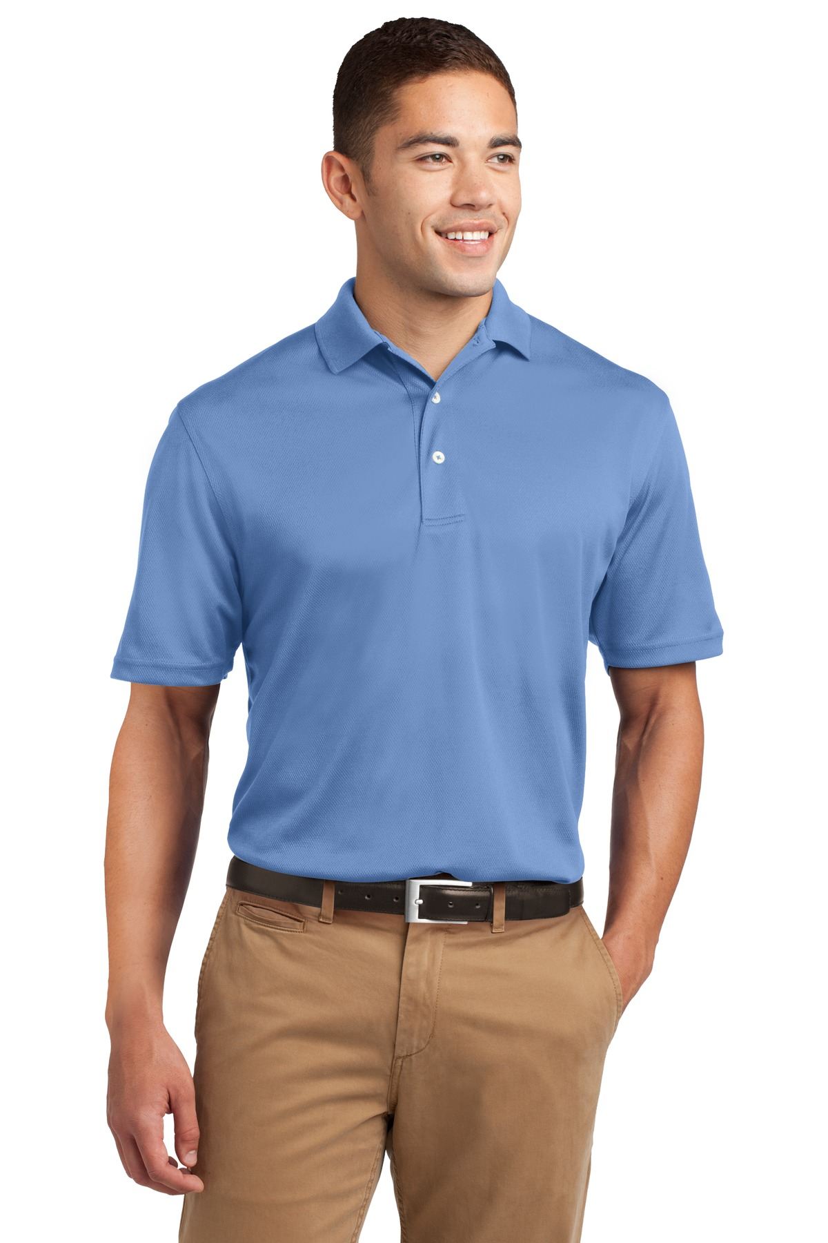 Sport-Tek ®  Dri-Mesh ®  Polo.  K469 - Blueberry