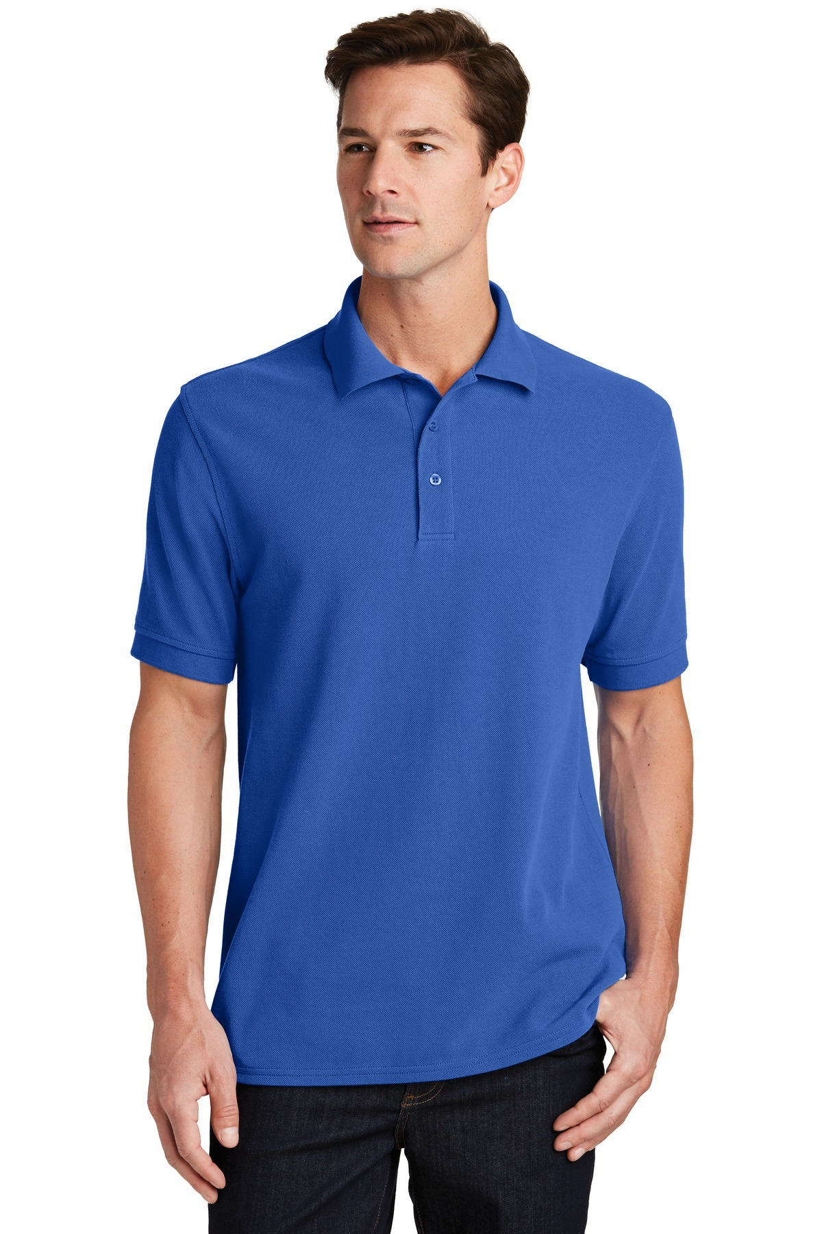 Port & Company ®  Combed Ring Spun Pique Polo. KP1500 - Royal