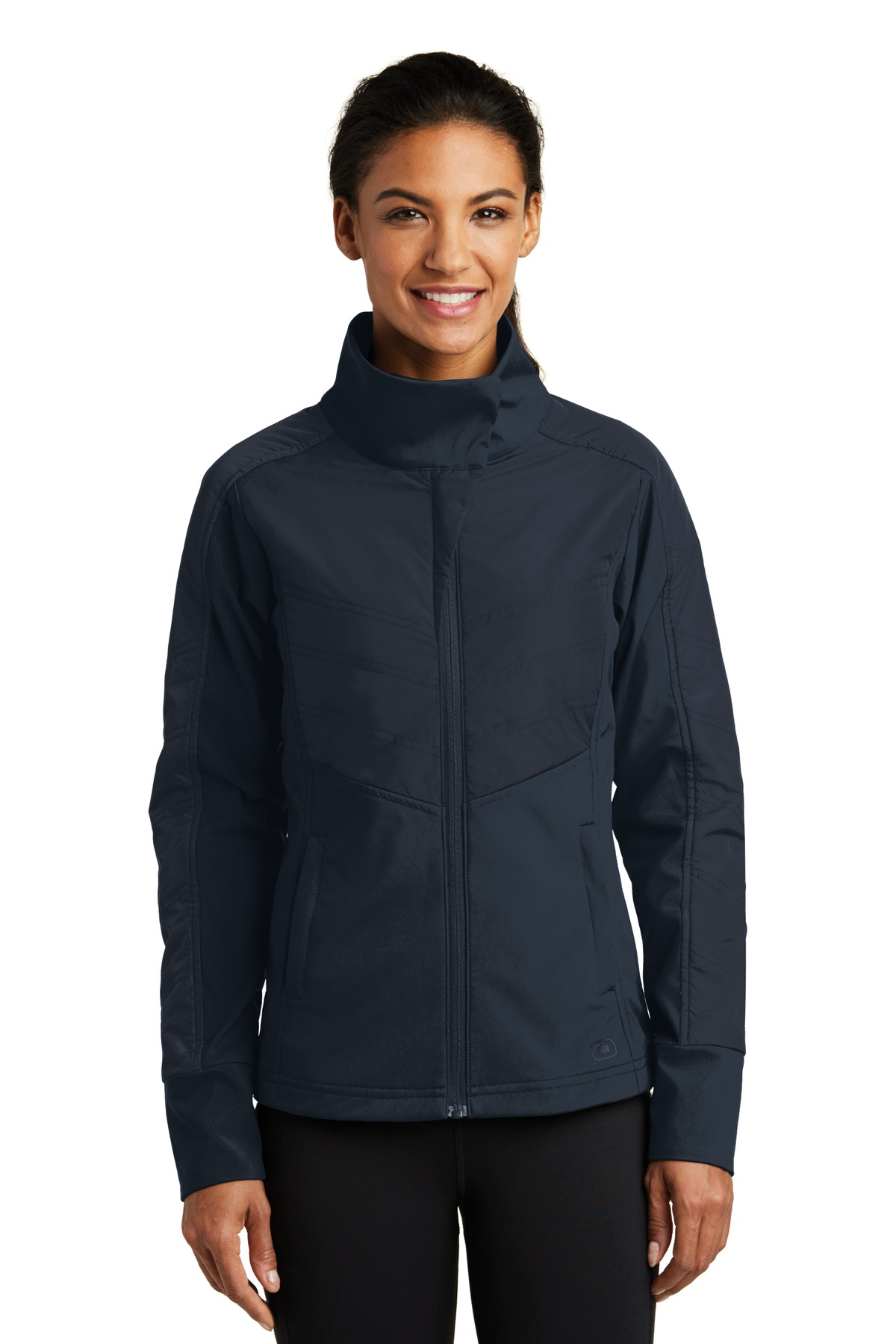OGIO ®  ENDURANCE Ladies Brink Soft Shell. LOE722 - Propel Navy