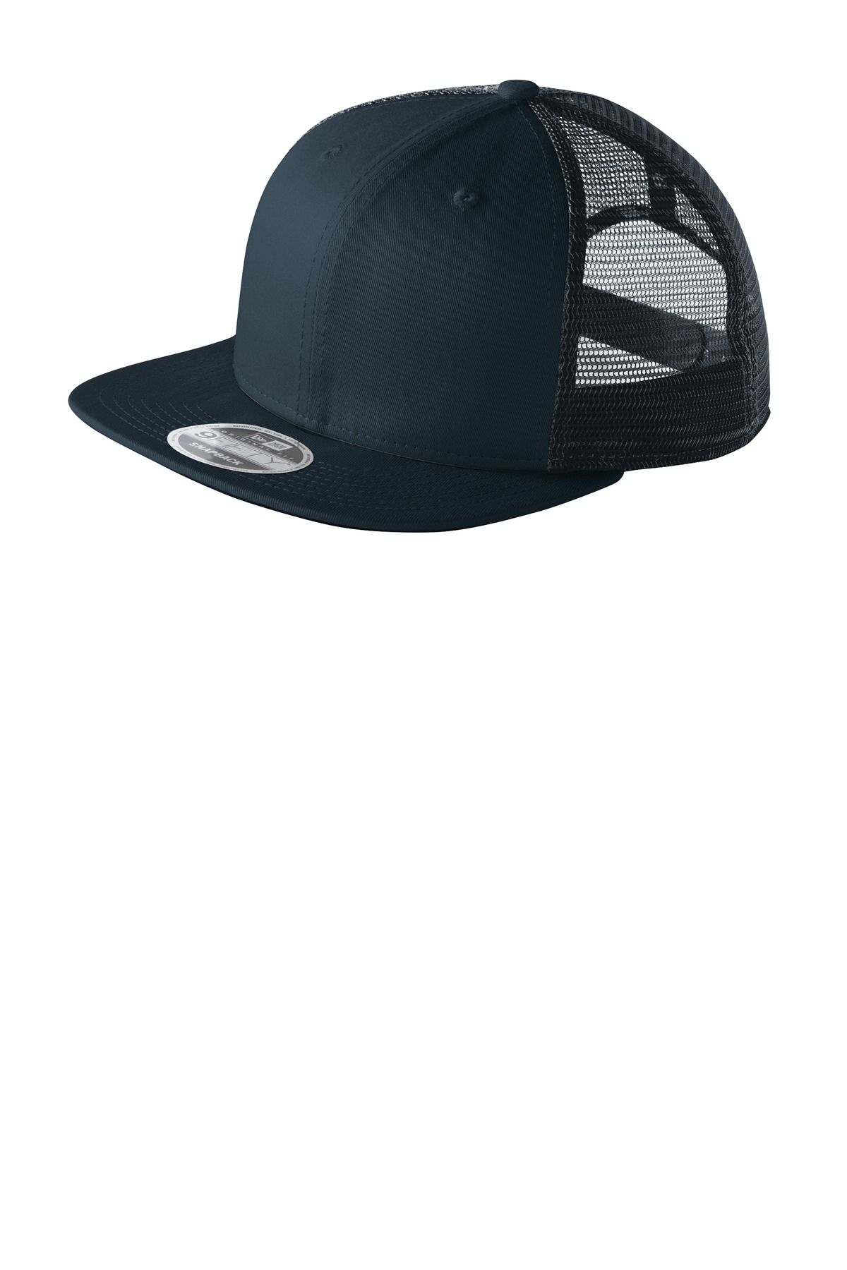 New Era ®  Original Fit Snapback Trucker Cap. NE403 - Deep Navy/ Deep Navy