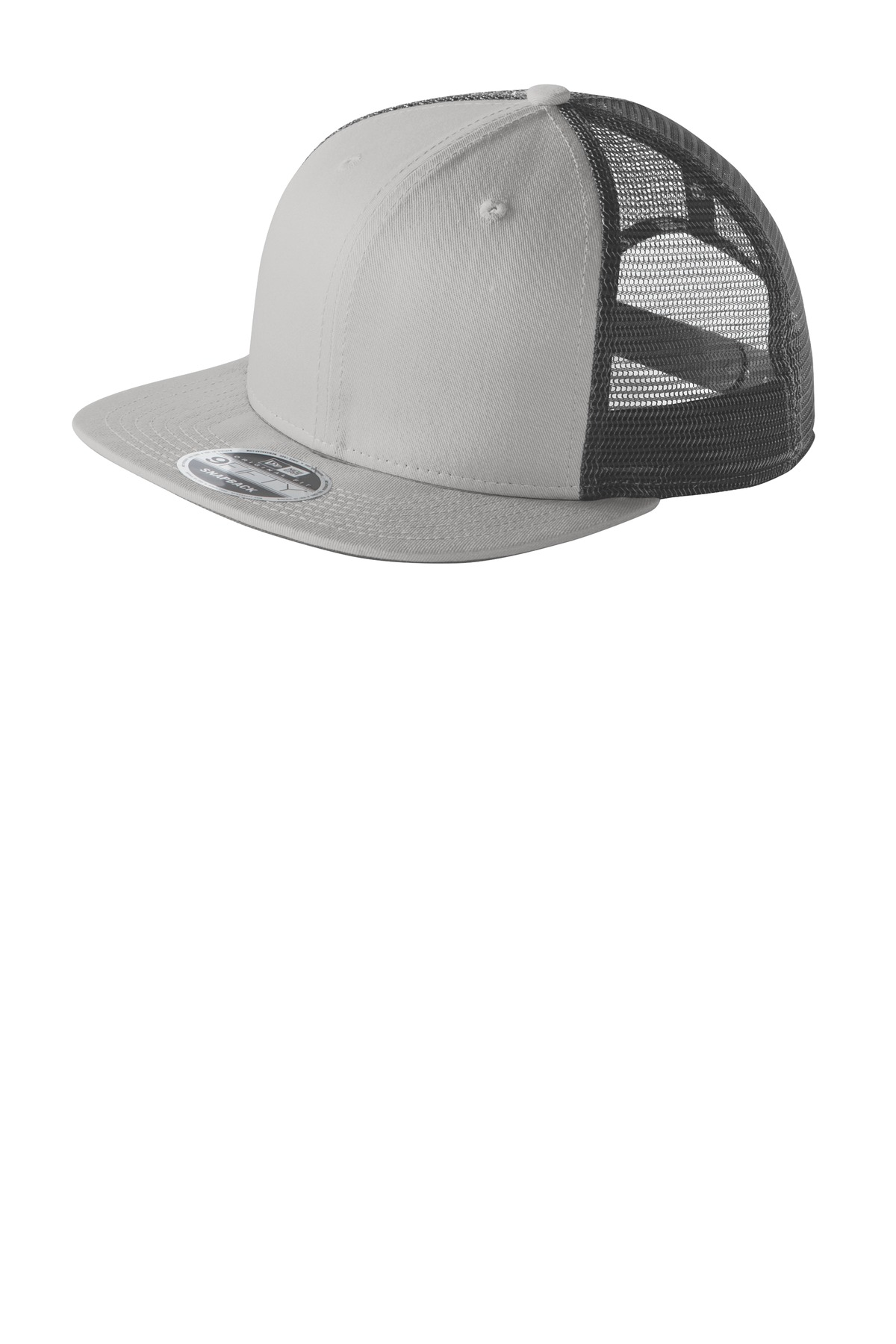 New Era ®  Original Fit Snapback Trucker Cap. NE403 - Grey/ Graphite