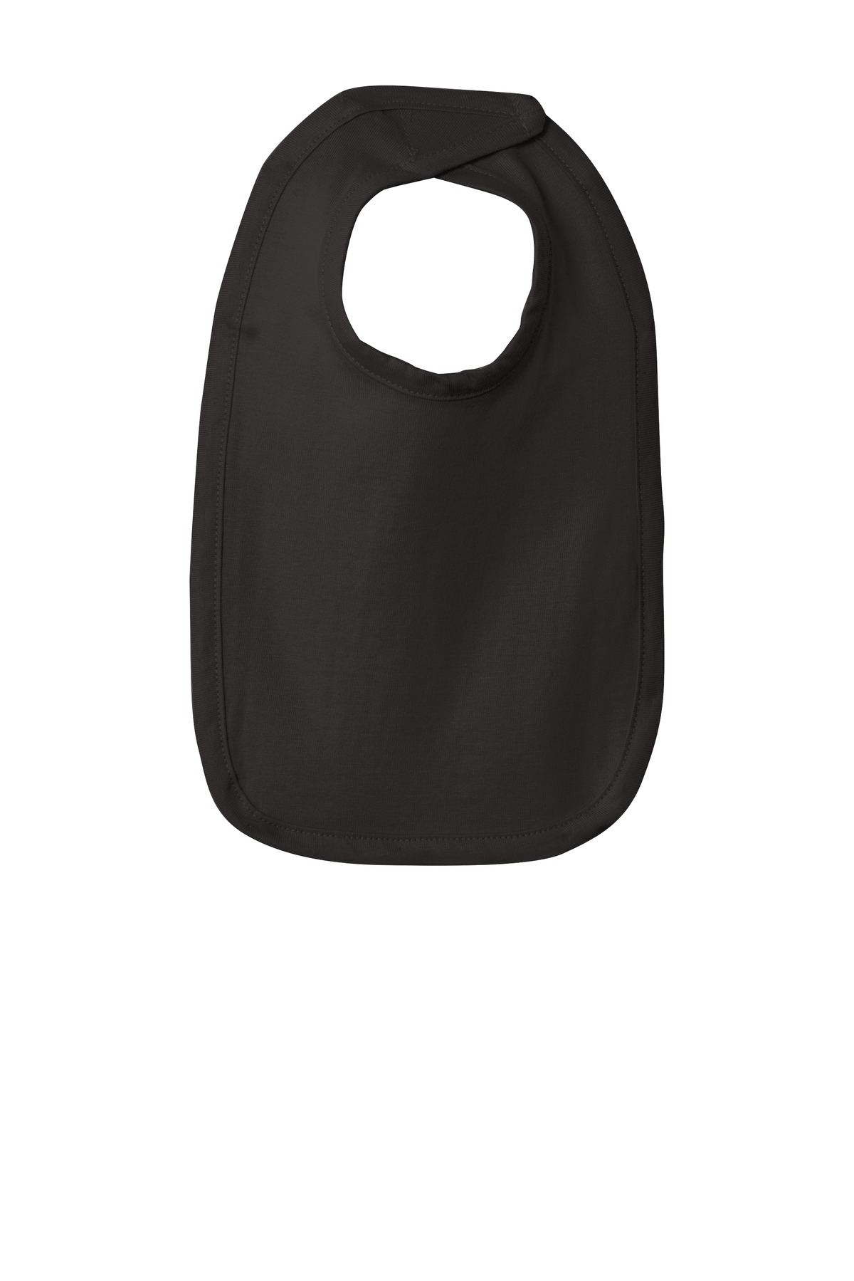 Rabbit Skins ™  Infant Premium Jersey Bib. RS1005 - Black