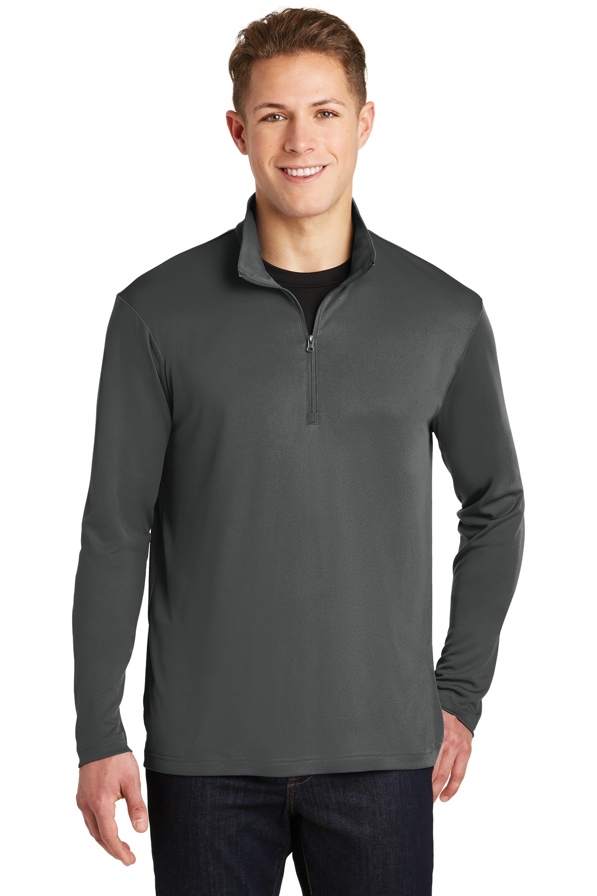 Sport-Tek ®  PosiCharge ®  Competitor ™  1/4-Zip Pullover. ST357 - Iron Grey