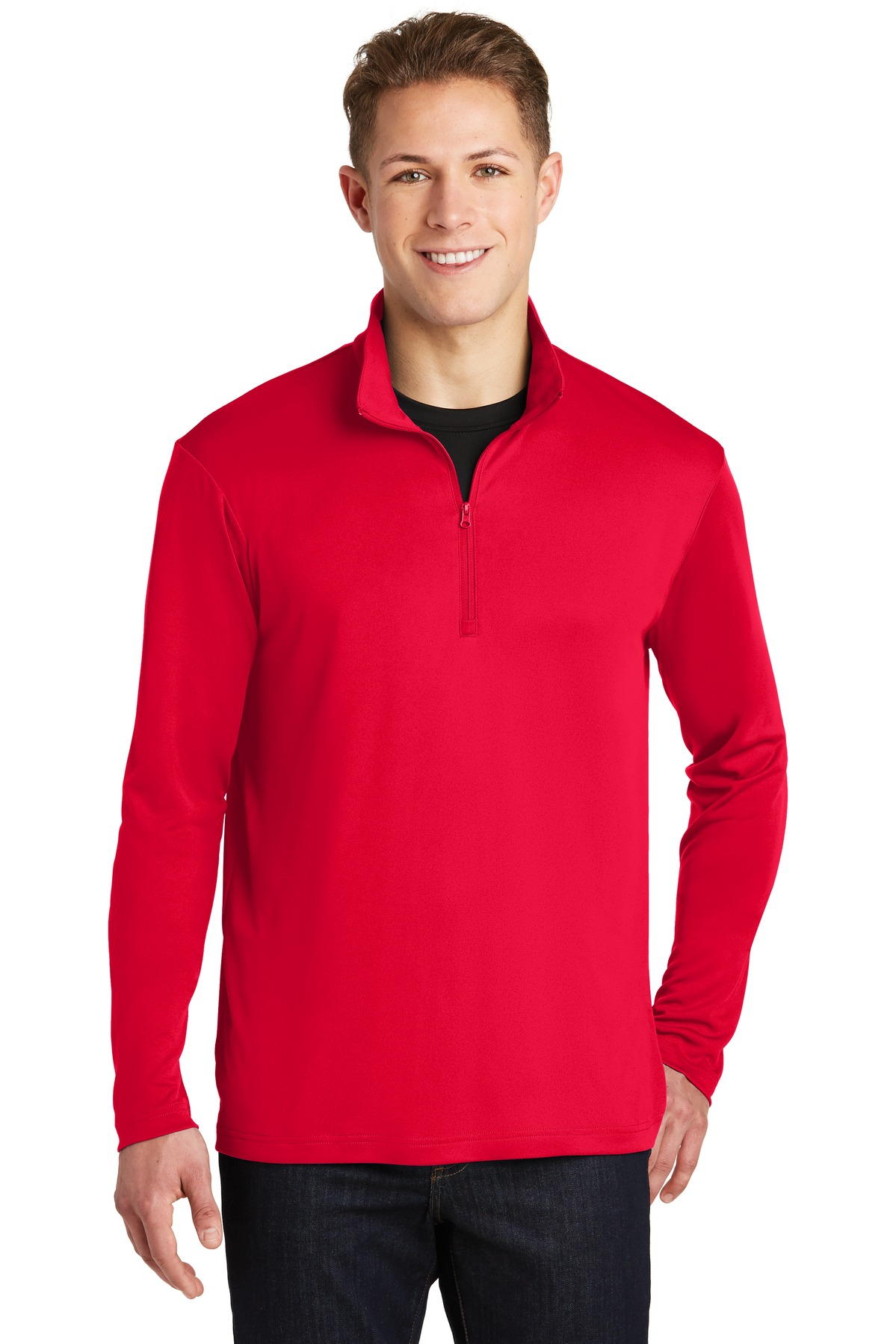 Sport-Tek ®  PosiCharge ®  Competitor ™  1/4-Zip Pullover. ST357 - True Red