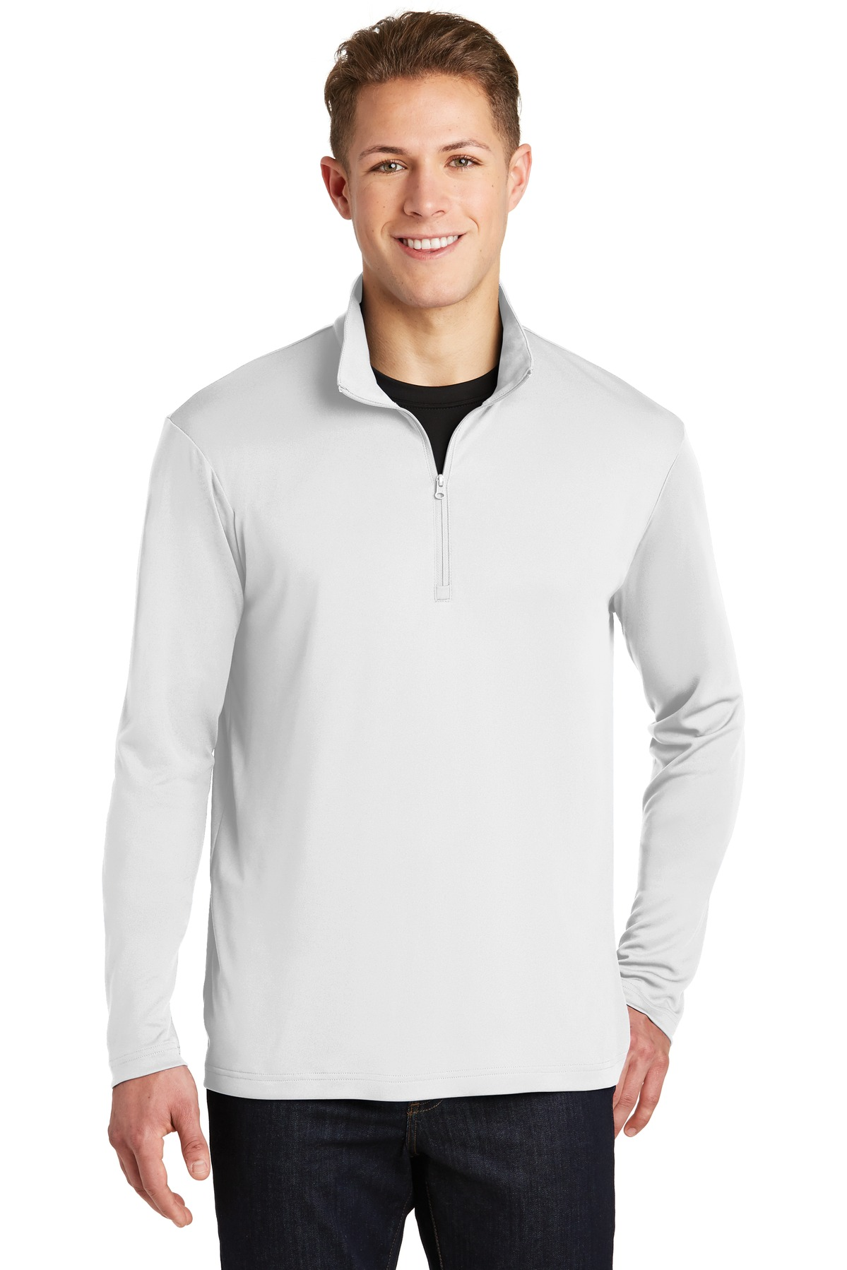 Sport-Tek ®  PosiCharge ®  Competitor ™  1/4-Zip Pullover. ST357 - White