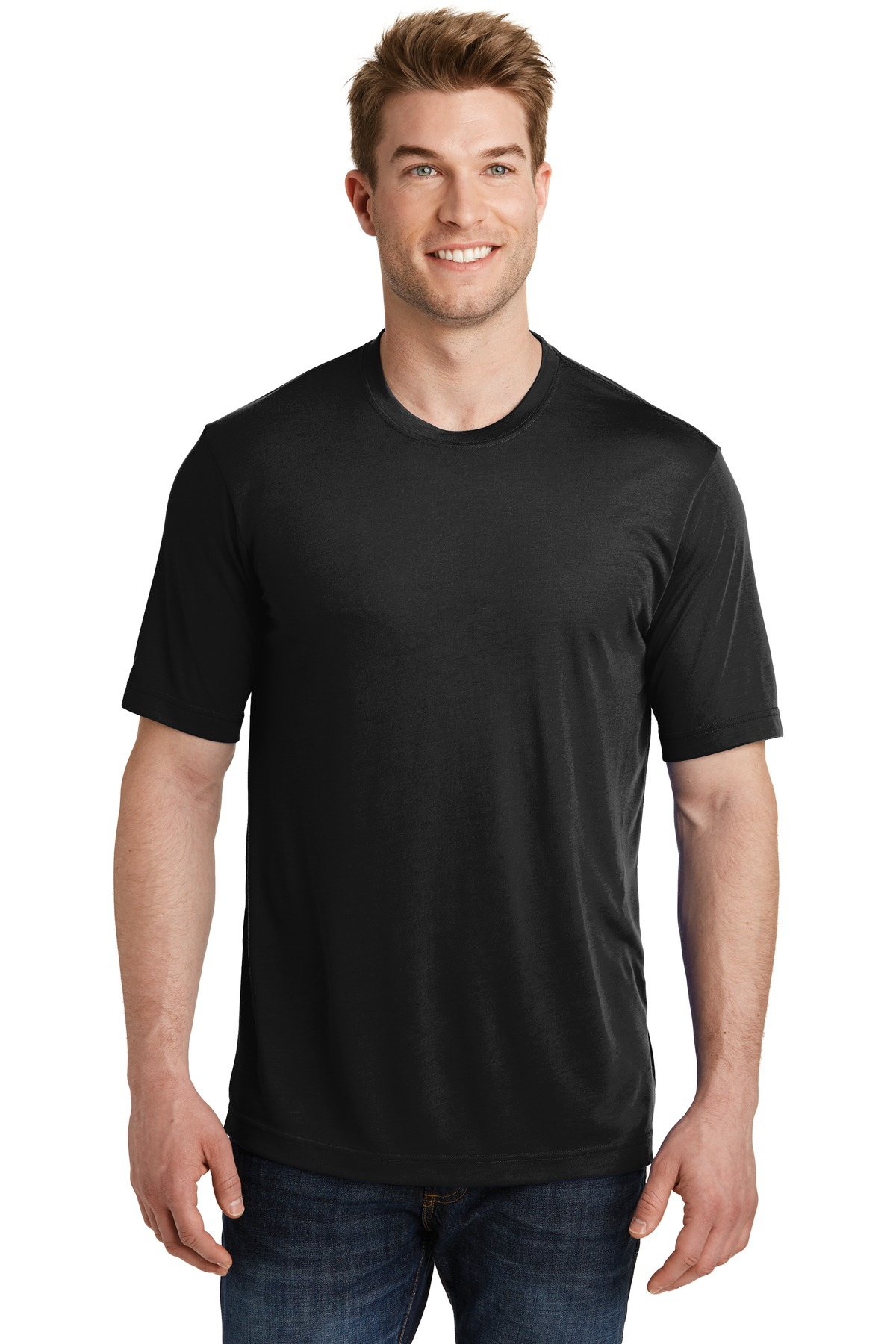 Sport-Tek ®  PosiCharge ®  Competitor ™  Cotton Touch ™  Tee. ST450 - Black