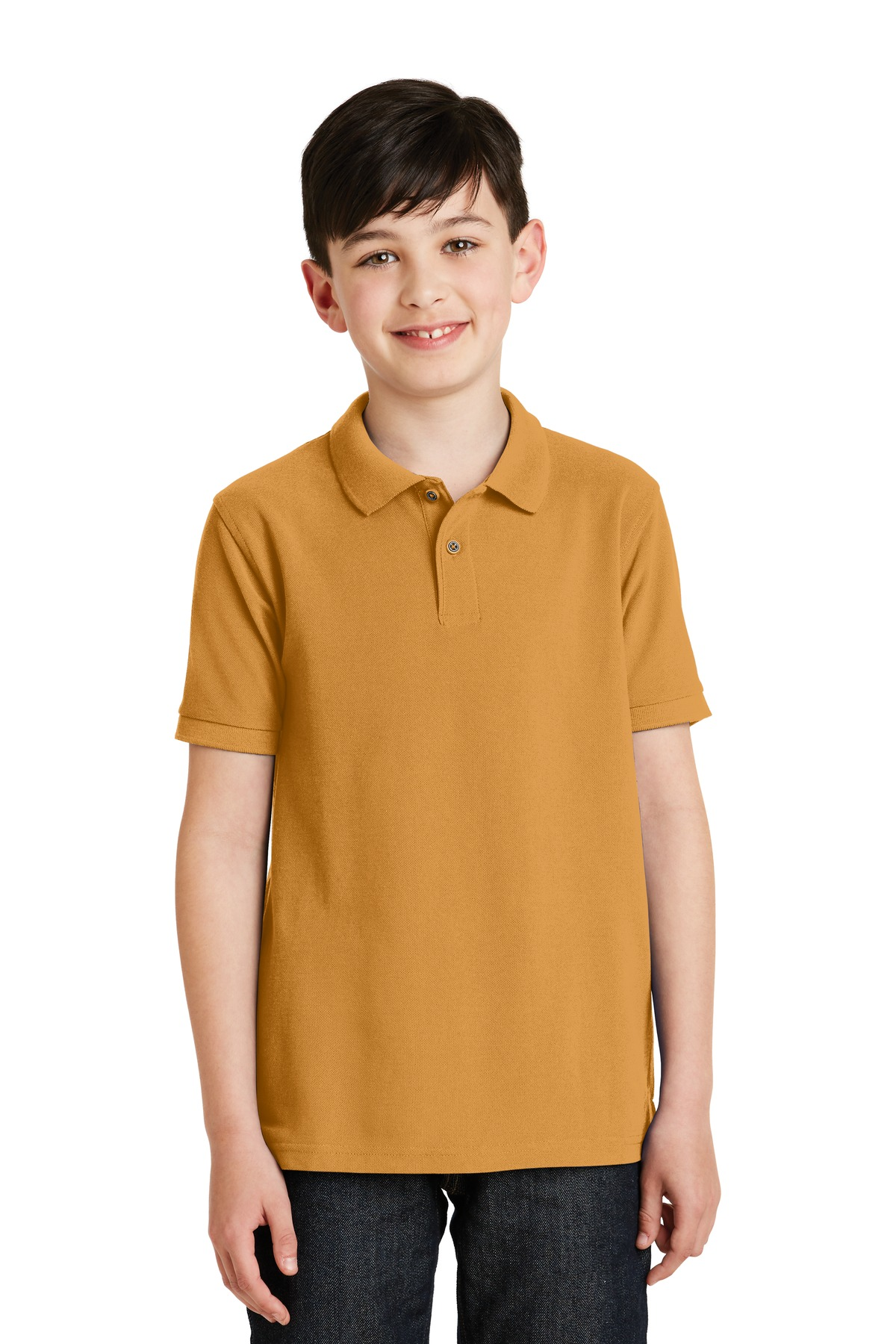 Port Authority ®  Youth Silk Touch™ Polo.  Y500 - Gold