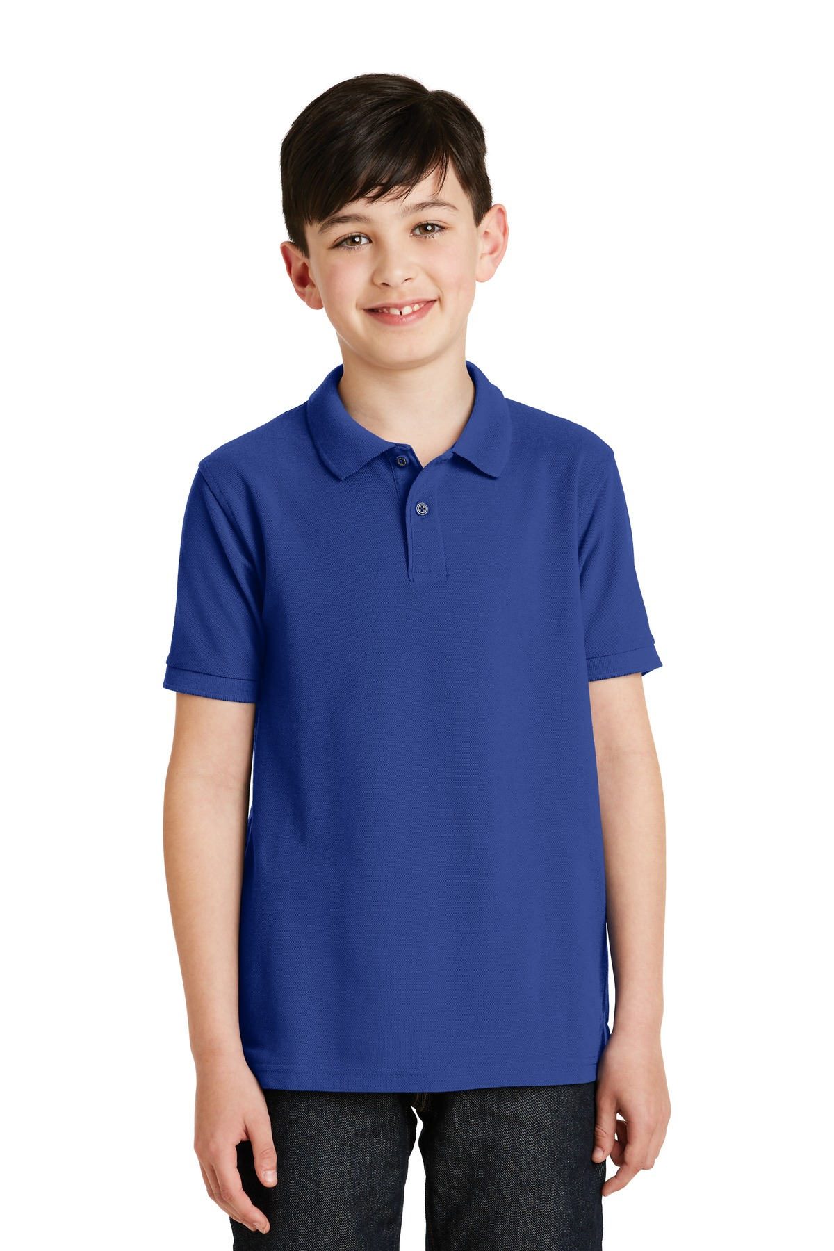 Port Authority ®  Youth Silk Touch™ Polo.  Y500 - Royal