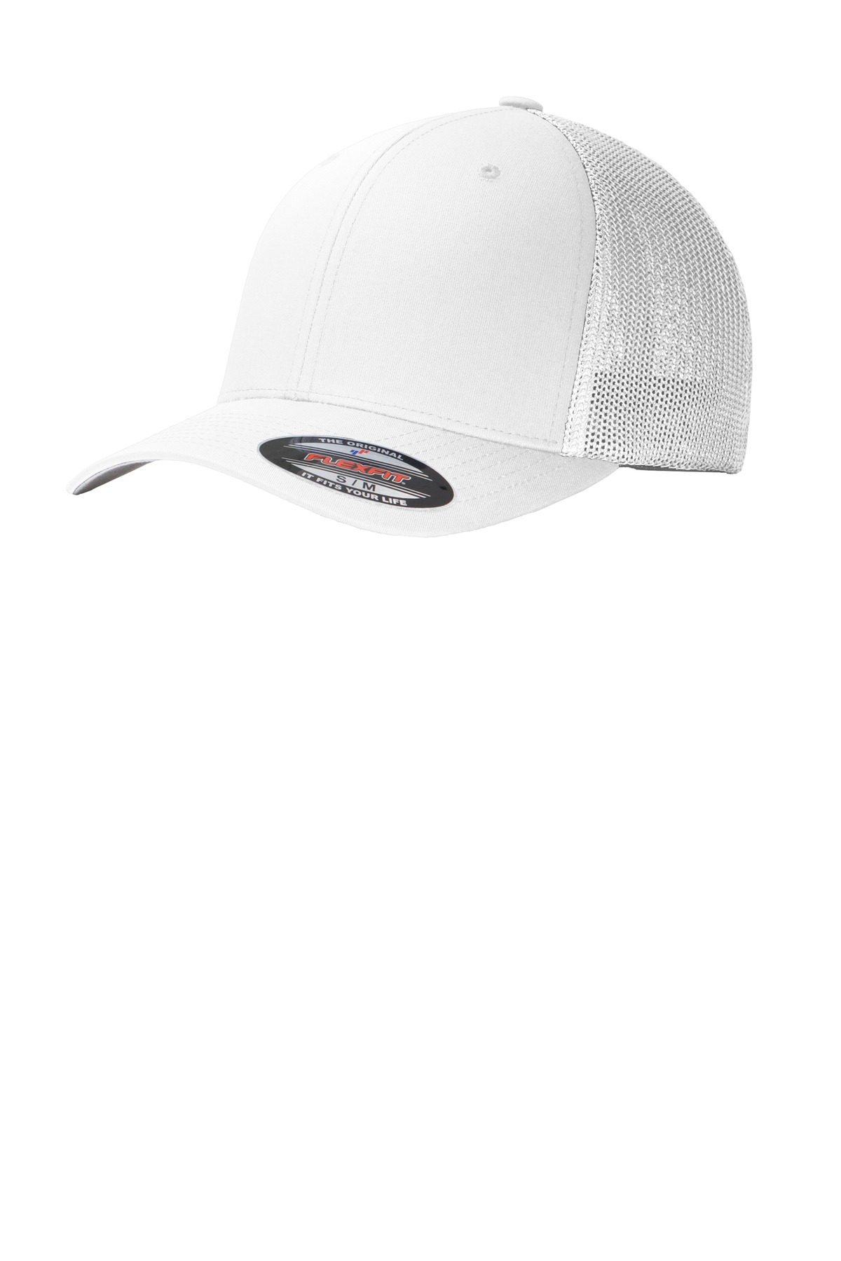 Port Authority ®  Flexfit ®  Mesh Back Cap. C812 - White/ White