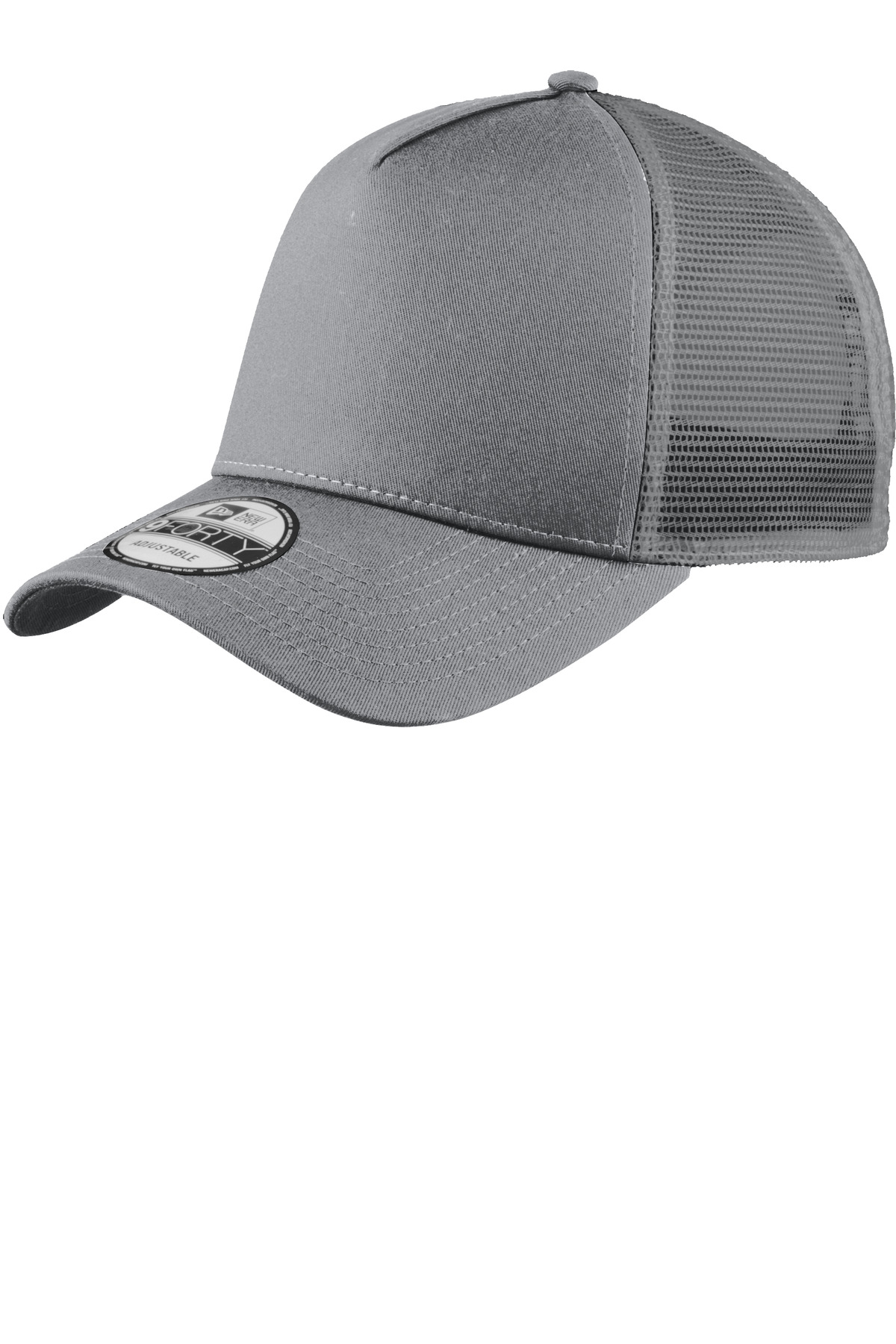New Era ®  Snapback Trucker Cap. NE205 - Grey/ Grey
