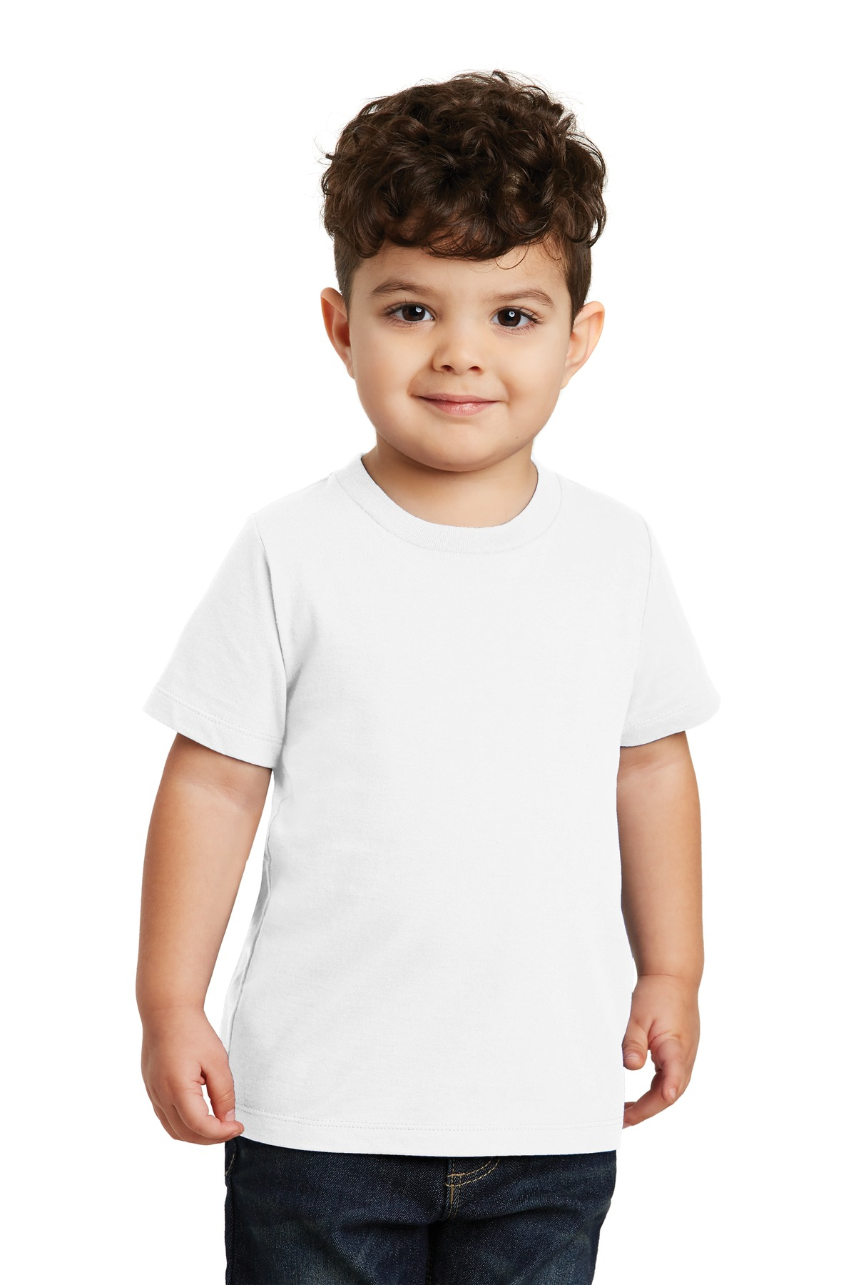 Port & Company  ®  Toddler Fan Favorite Tee. PC450TD - White