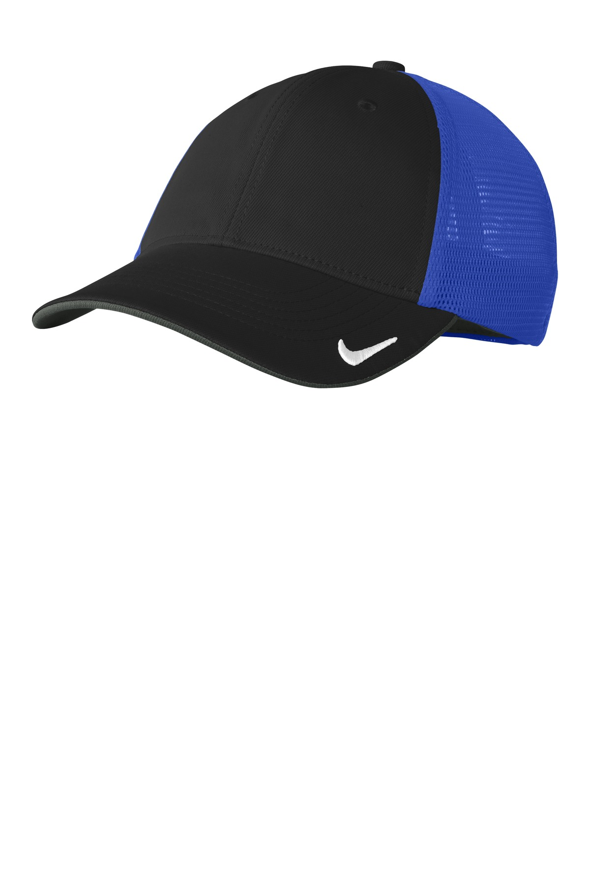 Nike Dri-FIT Mesh Back Cap. NKAO9293 - Black/ Game Royal