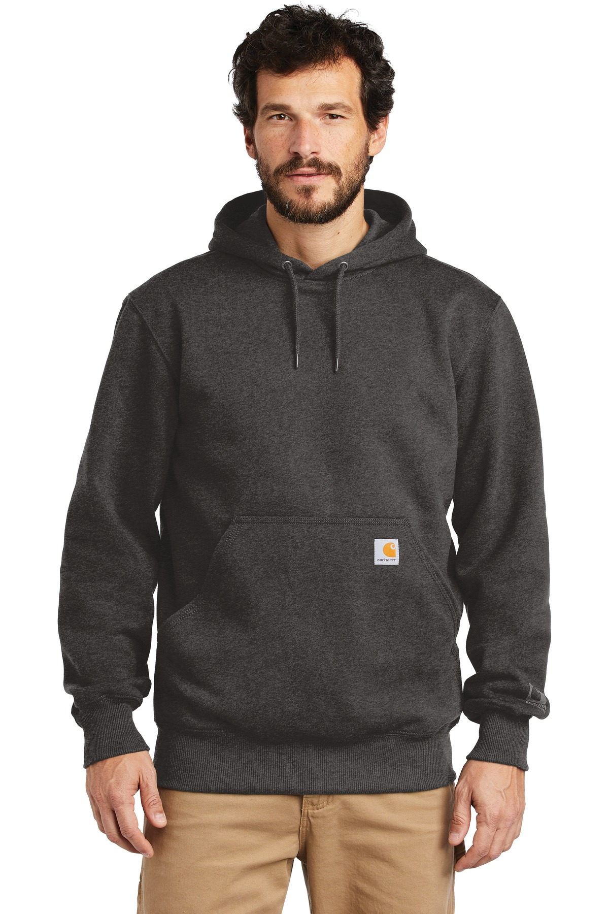 Carhartt  ®  Rain Defender  ®  Paxton Heavyweight Hooded Sweatshirt. CT100615 - Carbon Heather