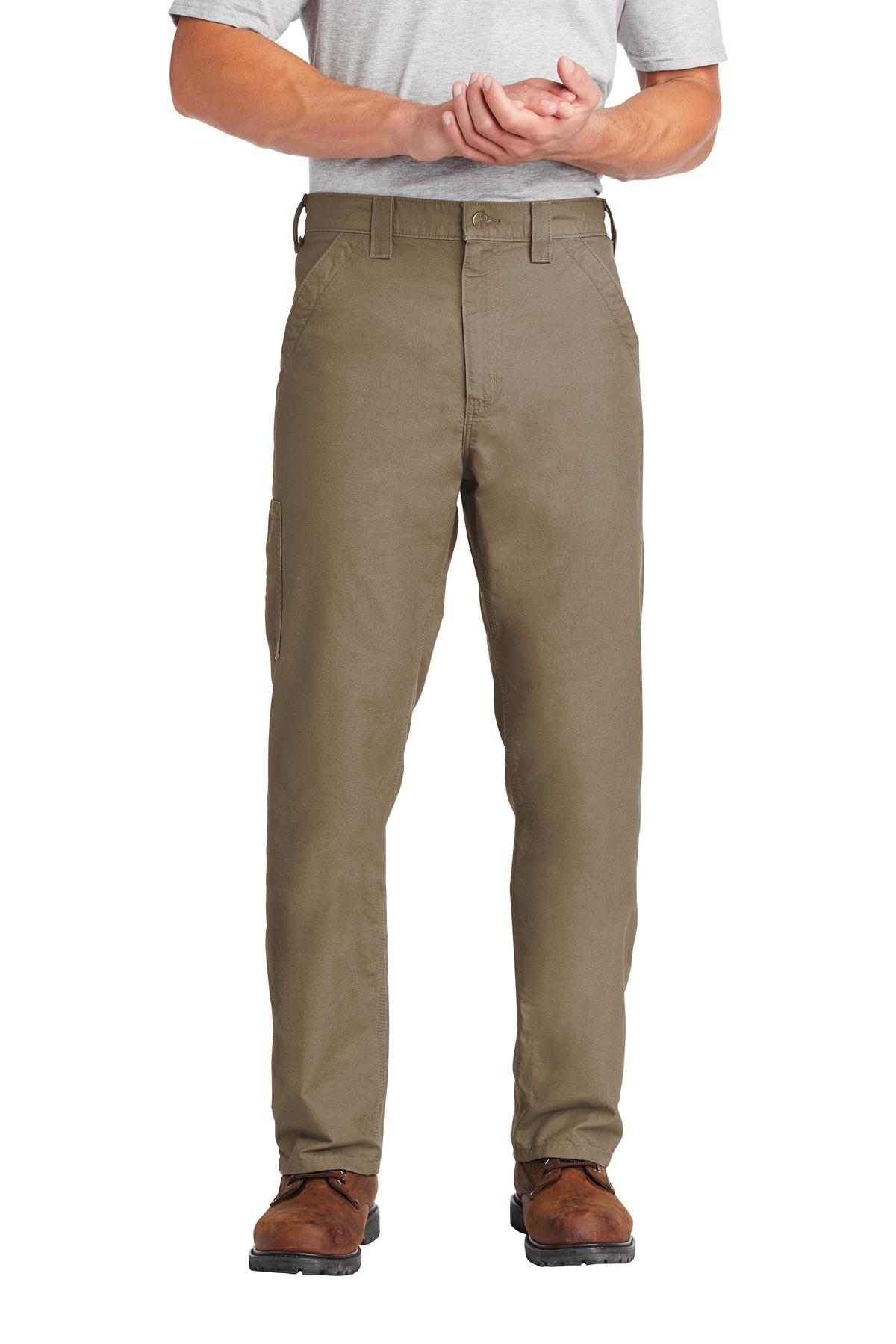 Carhartt  ®  Canvas Work Dungaree. CTB151 - Light Brown
