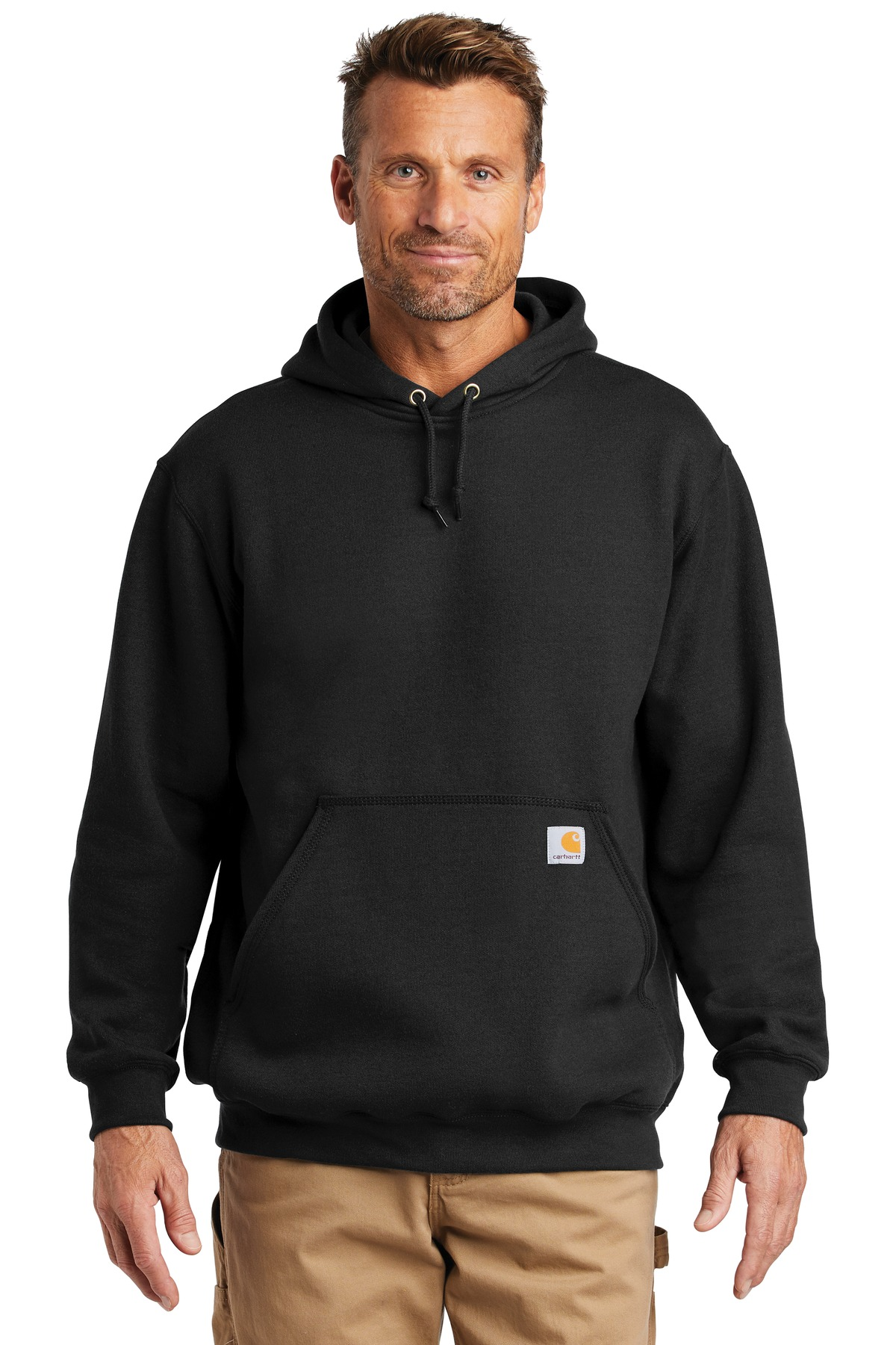 Carhartt  ®  Midweight Hooded Sweatshirt. CTK121 - Black