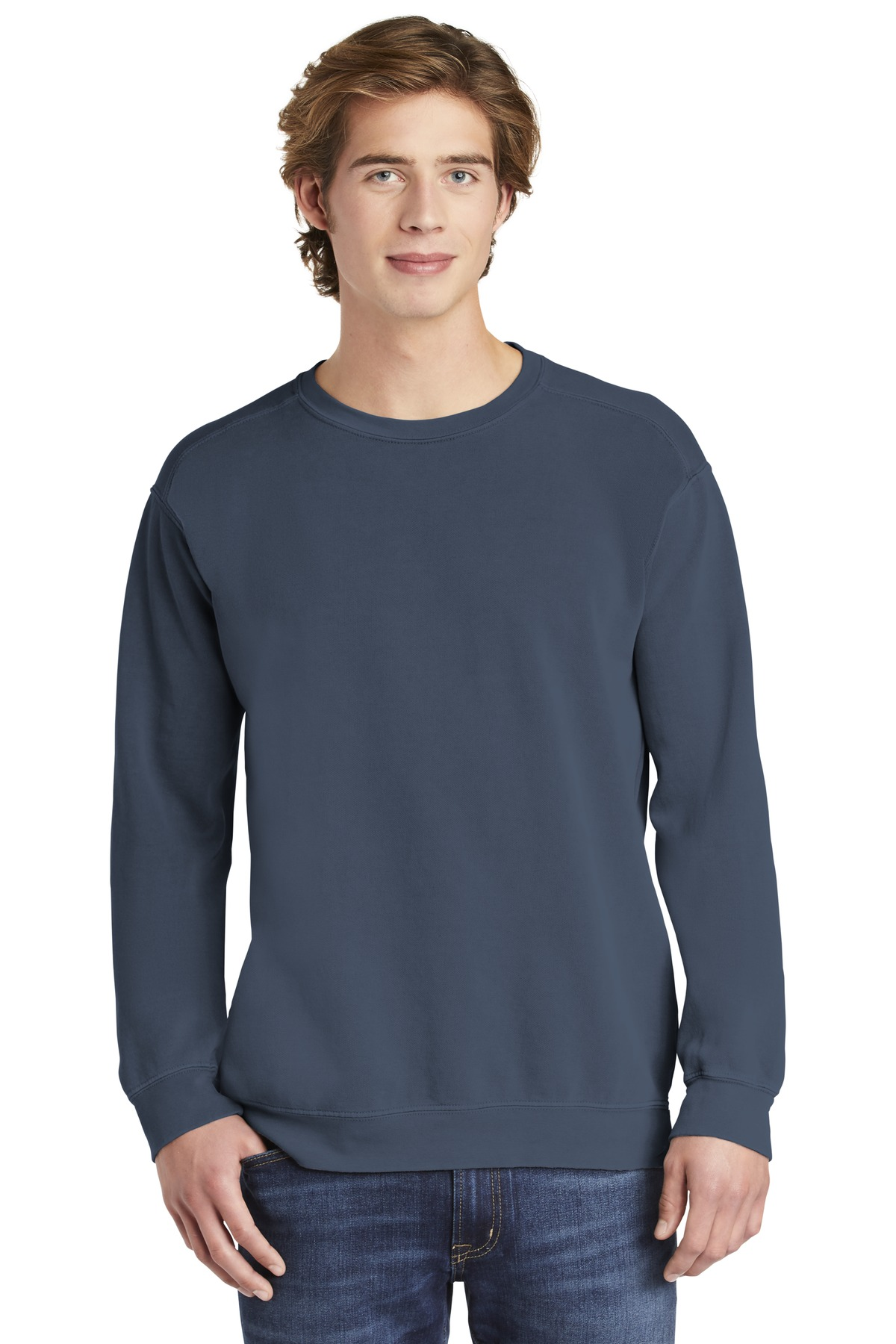COMFORT COLORS  ®  Ring Spun Crewneck Sweatshirt. 1566 - Blue Jean