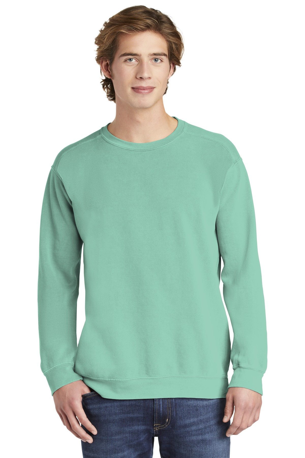 COMFORT COLORS  ®  Ring Spun Crewneck Sweatshirt. 1566 - Chalky Mint