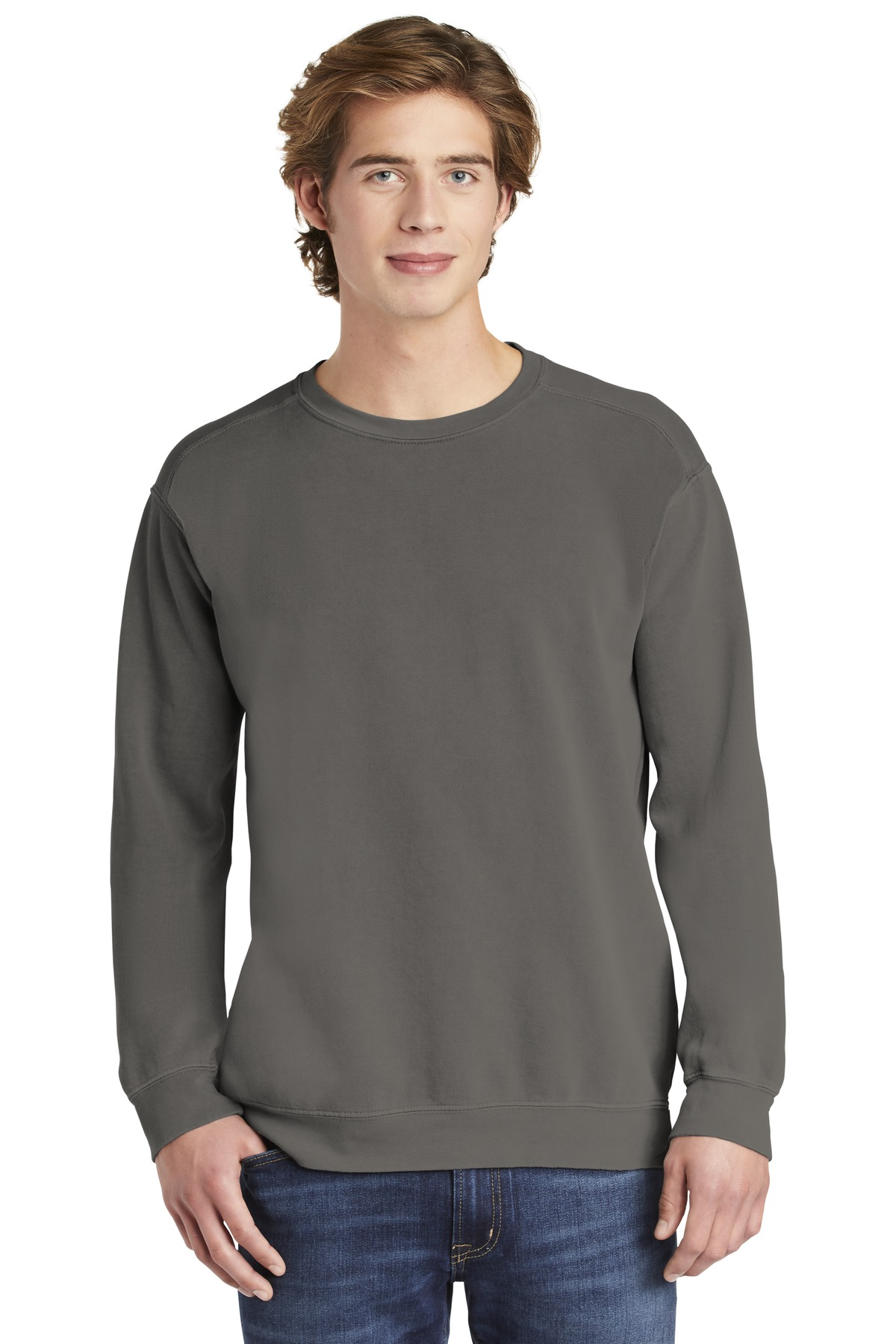 COMFORT COLORS  ®  Ring Spun Crewneck Sweatshirt. 1566 - Grey
