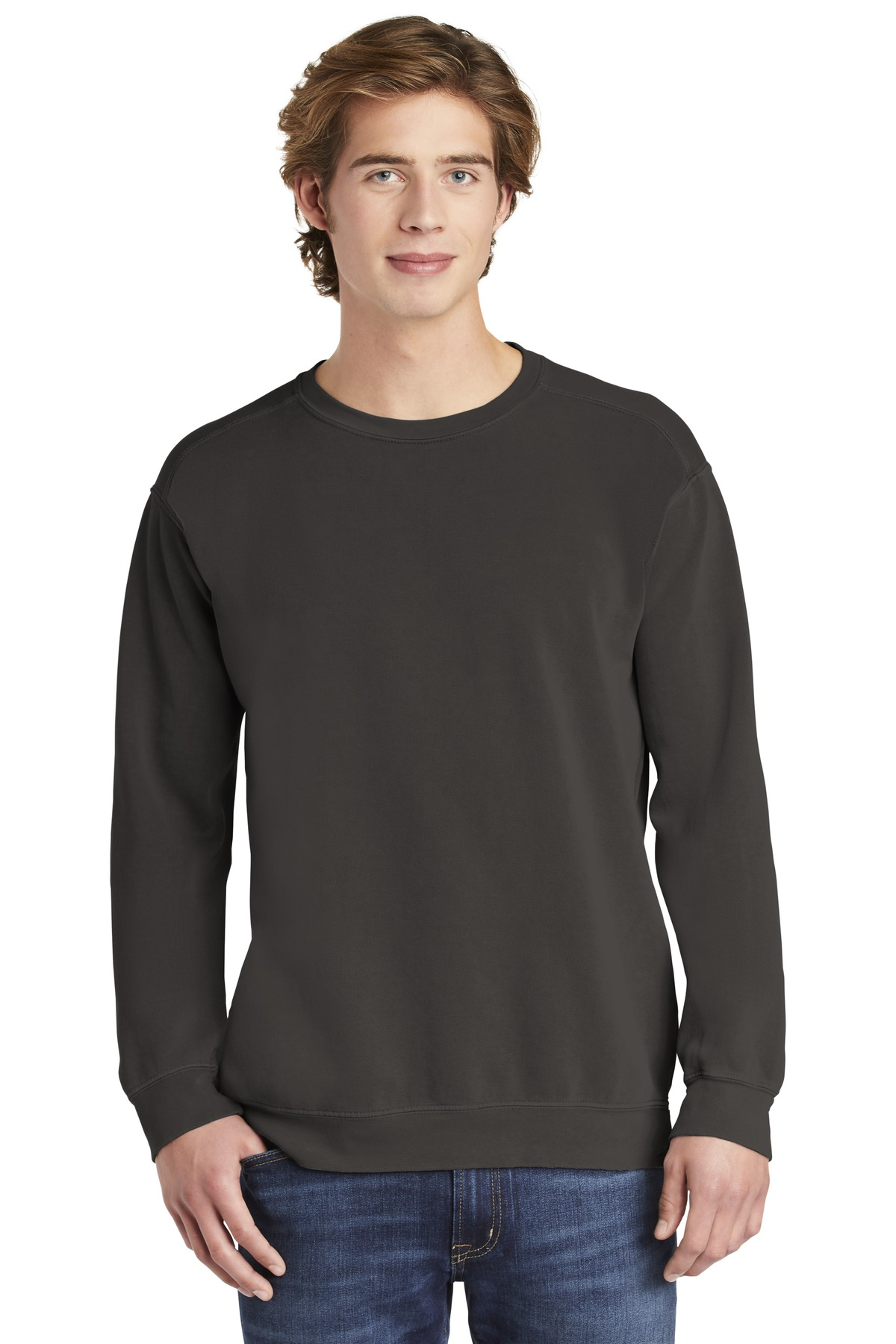 COMFORT COLORS  ®  Ring Spun Crewneck Sweatshirt. 1566 - Pepper