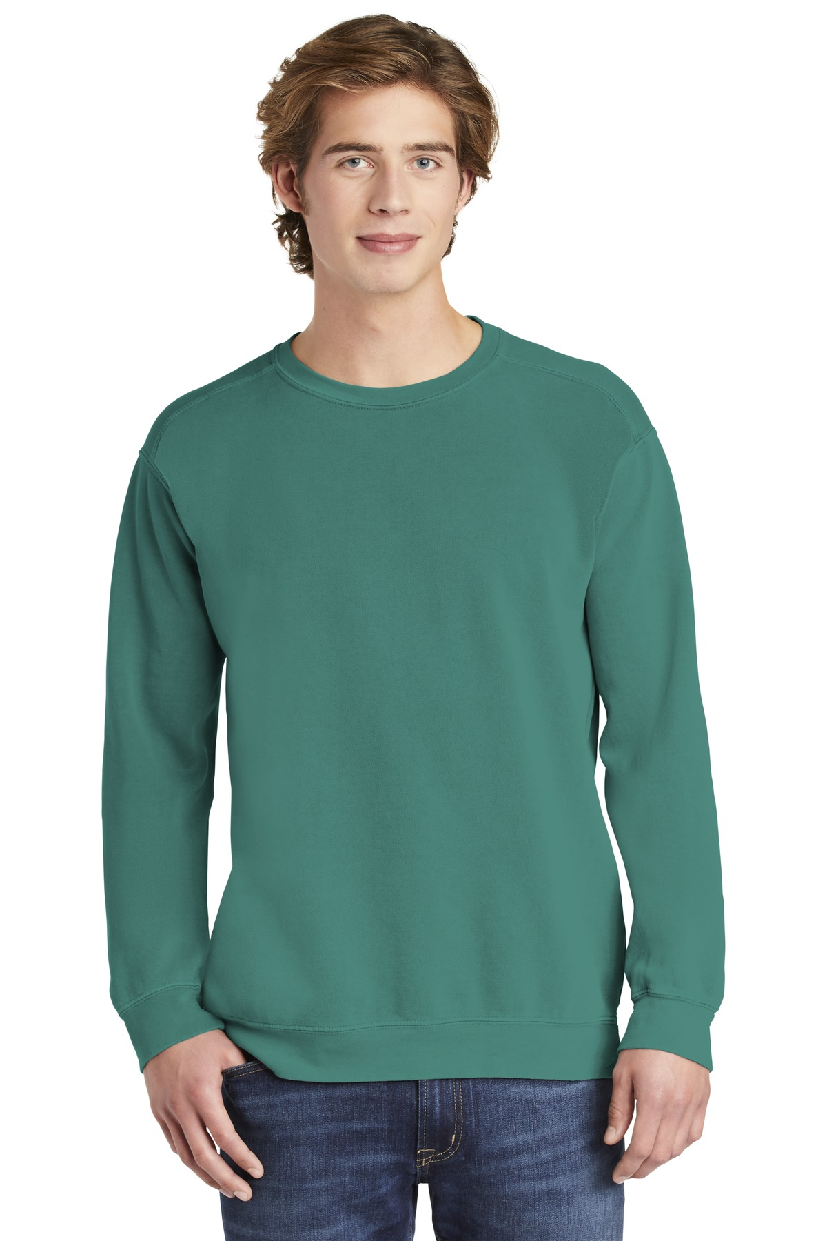 COMFORT COLORS  ®  Ring Spun Crewneck Sweatshirt. 1566 - Seafoam