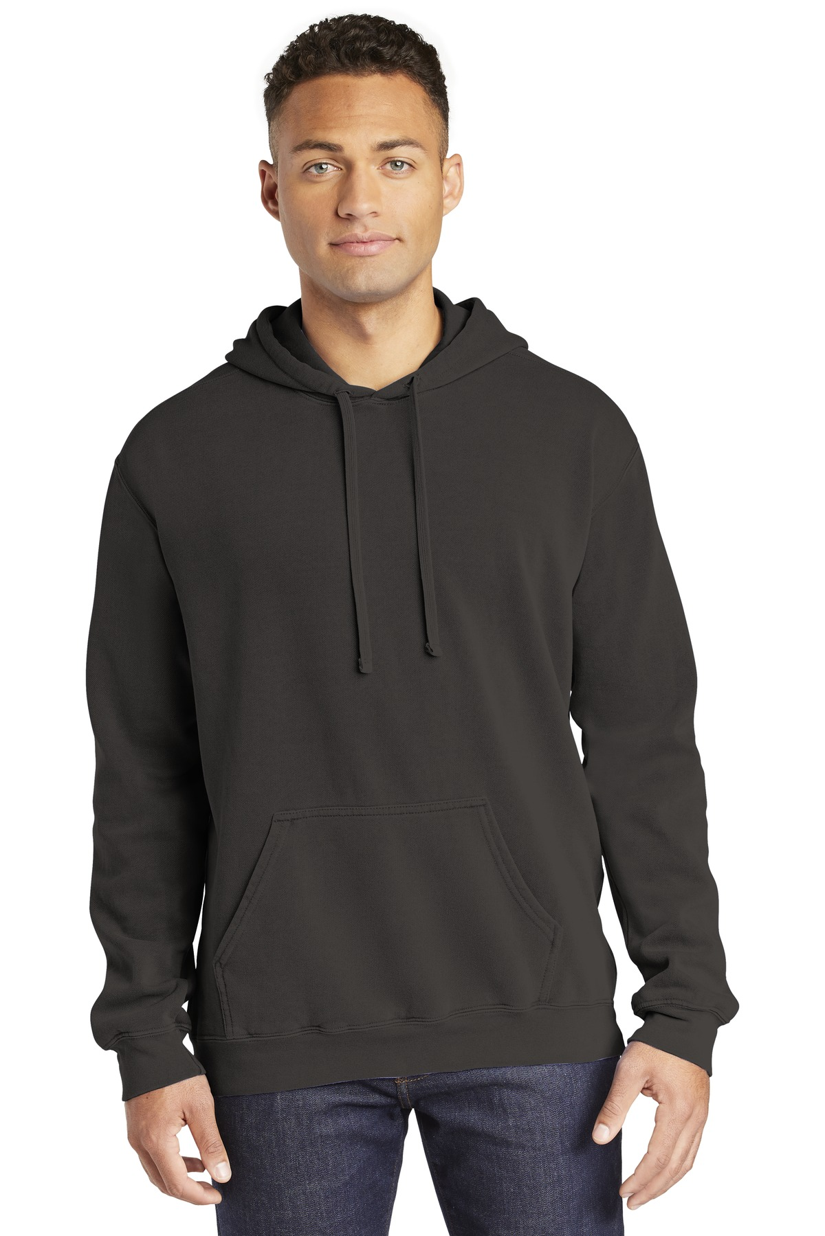 COMFORT COLORS  ®  Ring Spun Hooded Sweatshirt. 1567 - Pepper