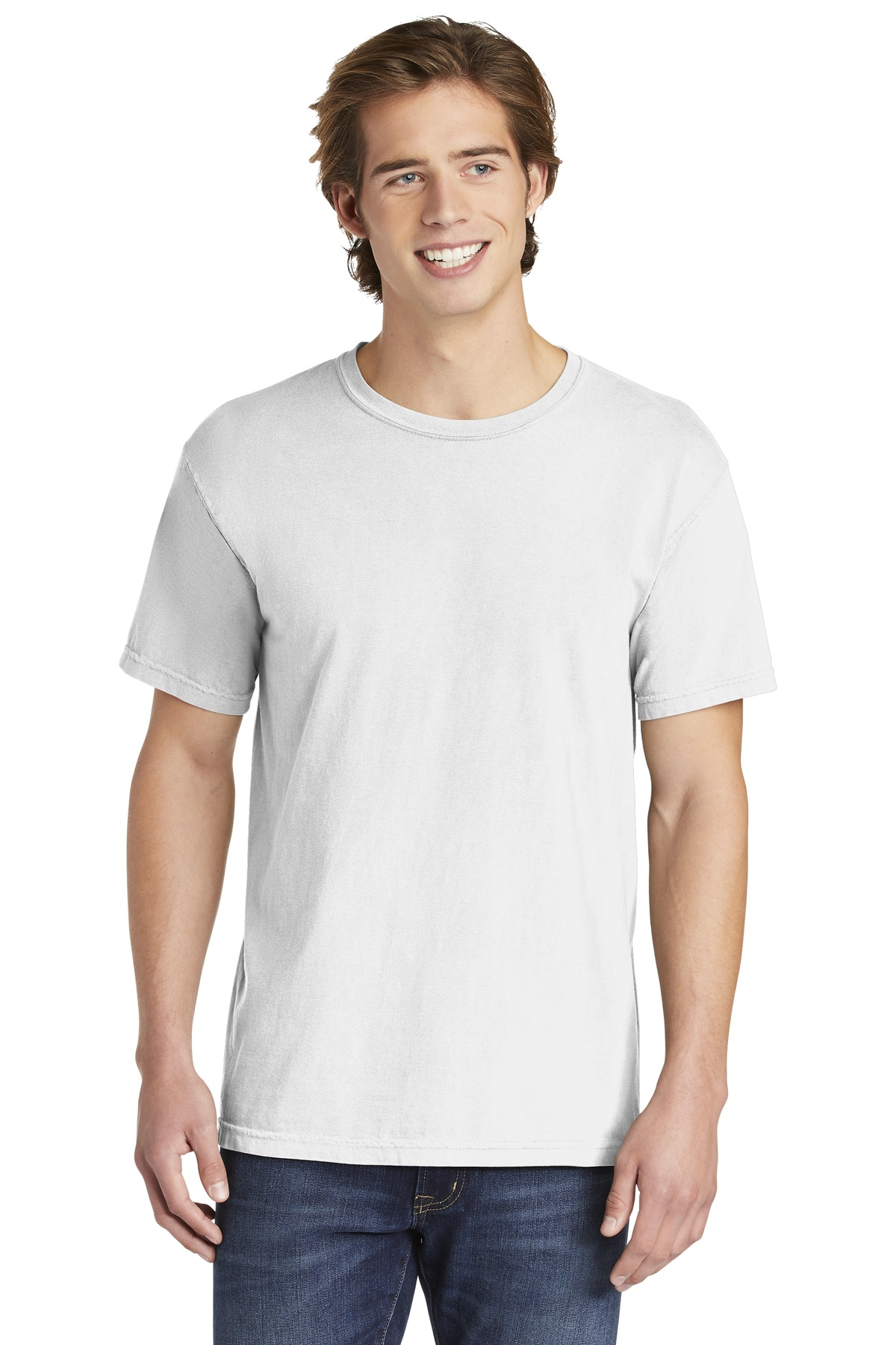 COMFORT COLORS  ®  Heavyweight Ring Spun Tee. 1717 - White