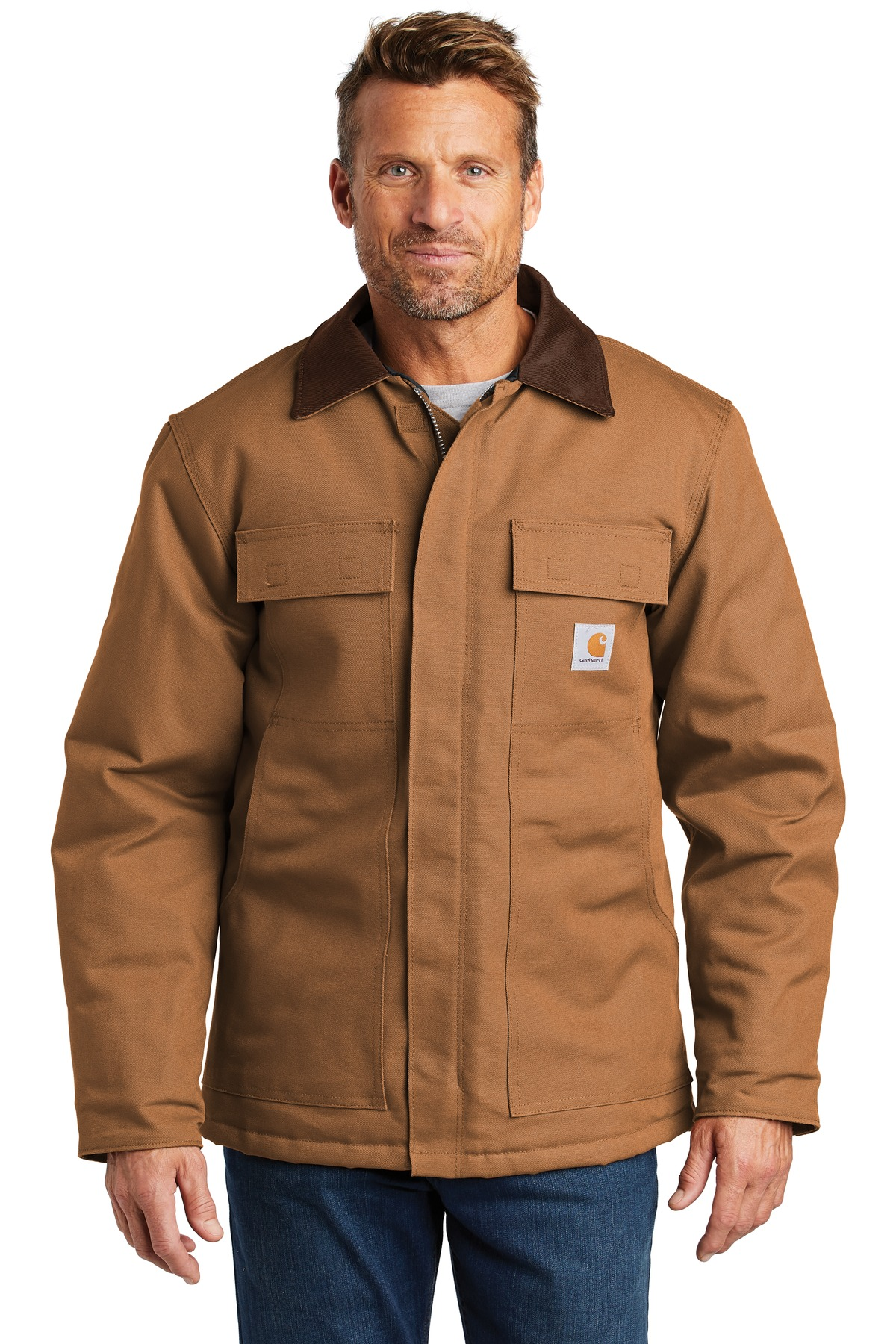 Carhartt Tall Duck Traditional Coat. CTTC003