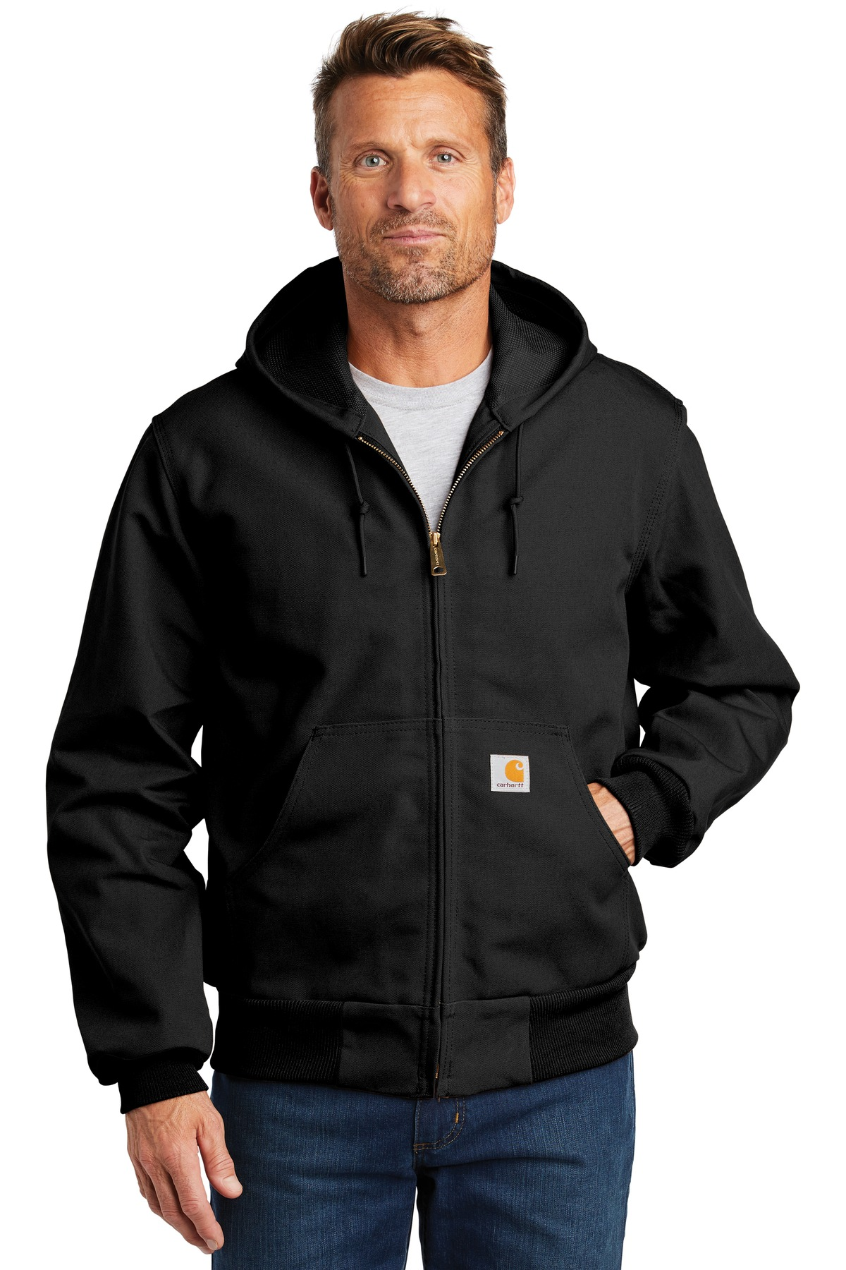 Carhartt  ®  Tall Thermal-Lined Duck Active Jac. CTTJ131 - Black